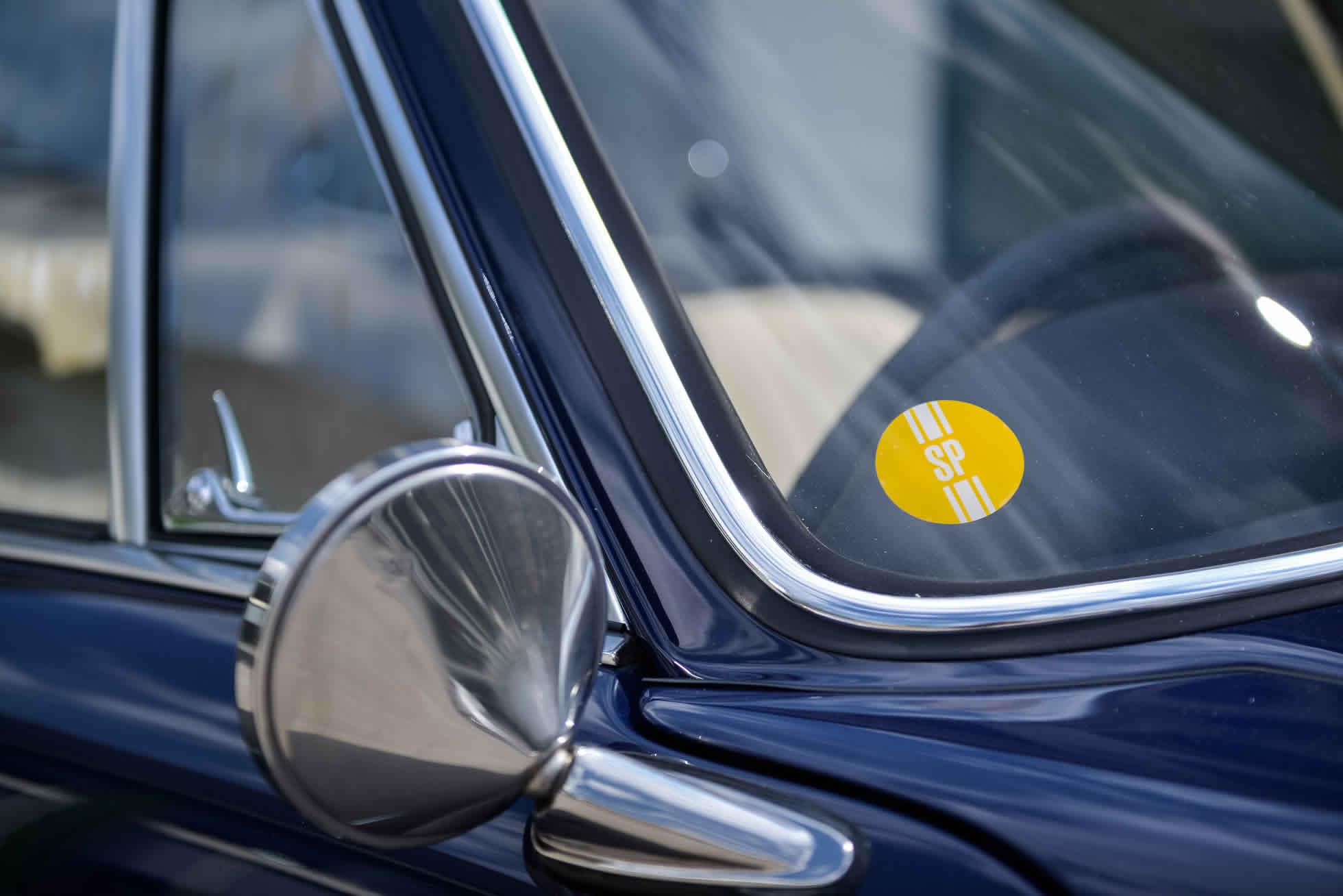 For Sale 1968 Porsche 911 S rear wing mirror