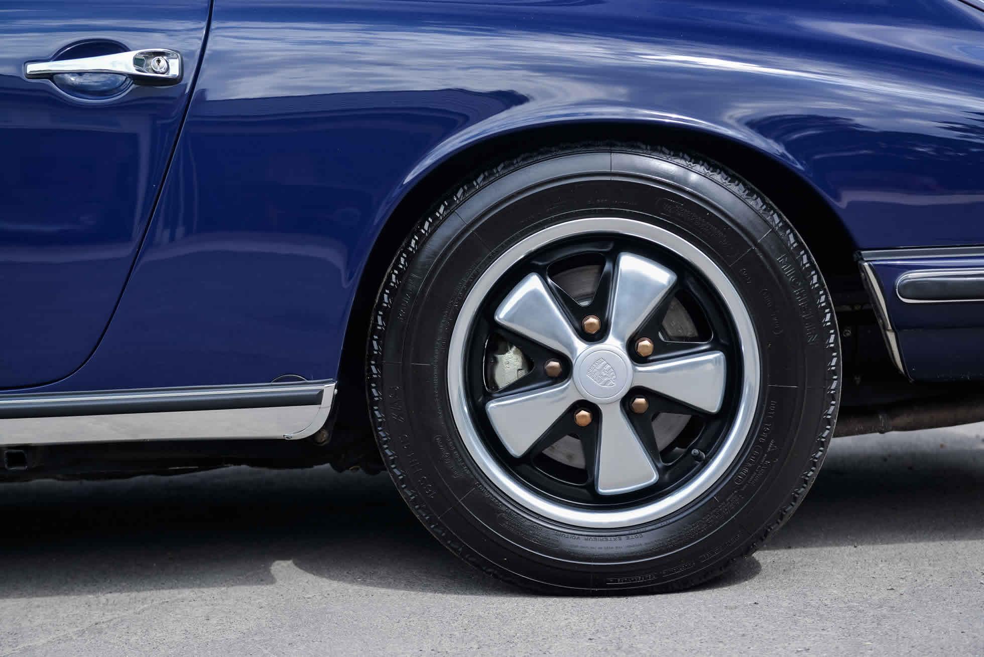 For Sale 1968 Porsche 911 S wheels