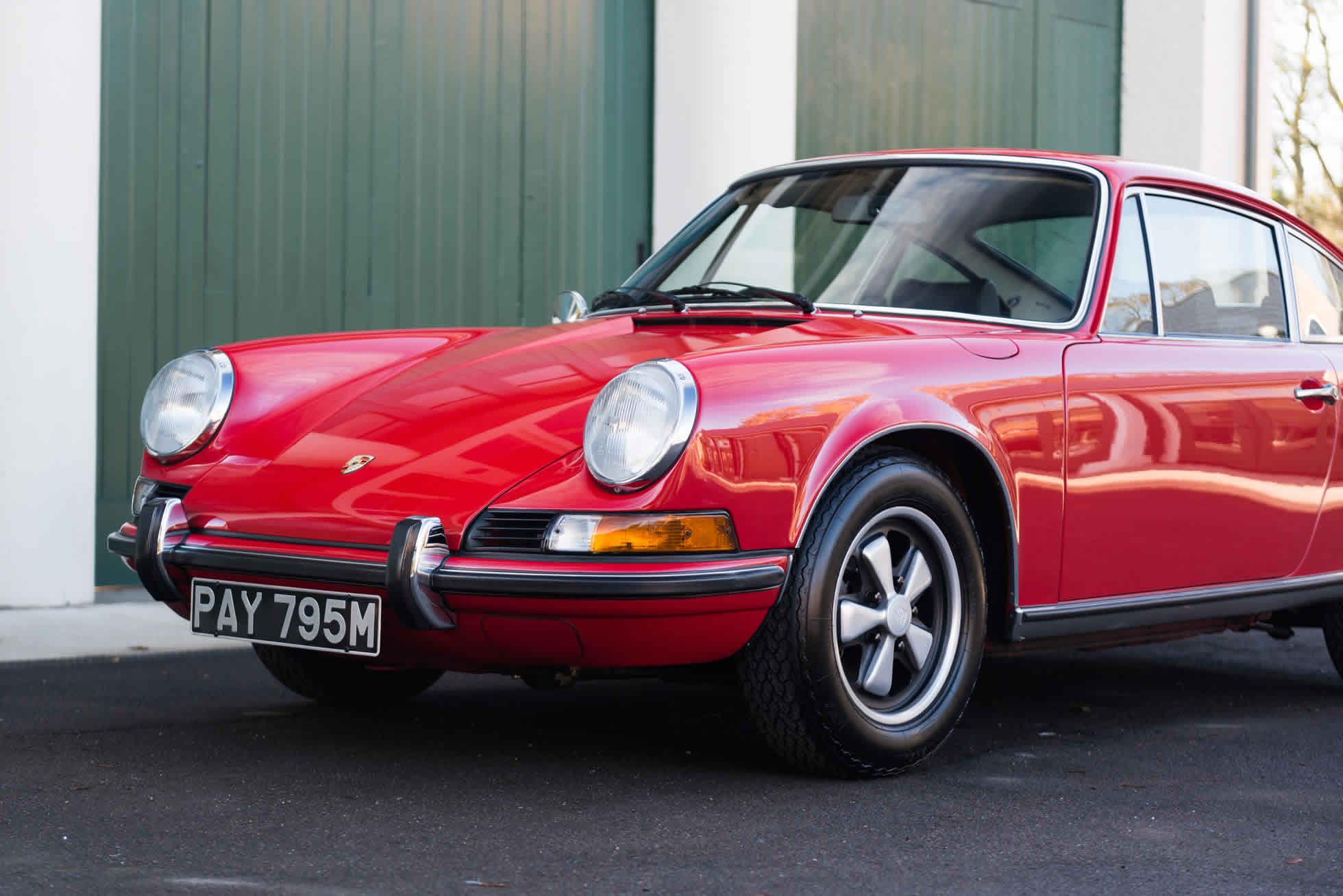 For Sale 1973 Porsche 911 T 2.4 quarter view
