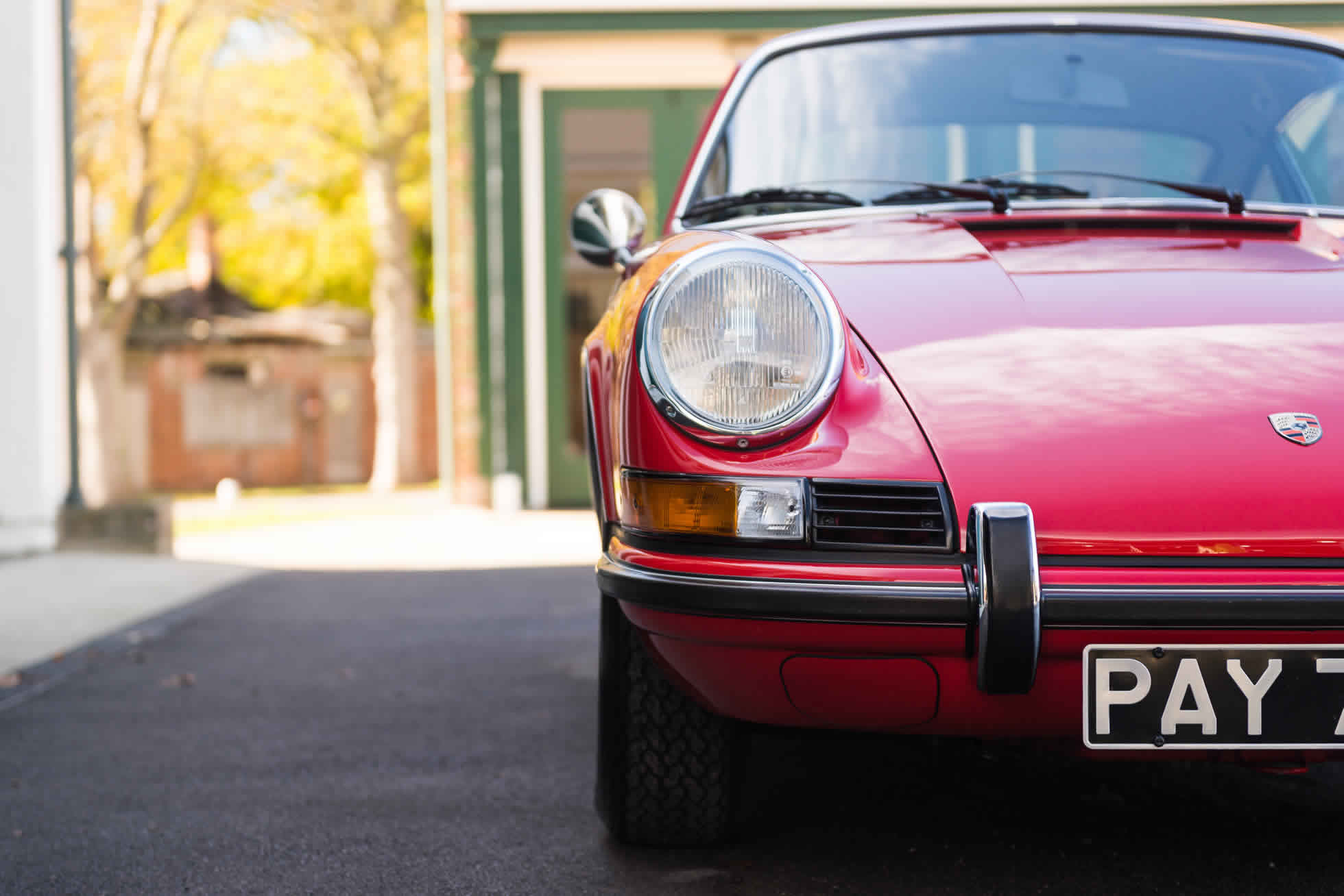 For Sale 1973 Porsche 911 T 2.4 front view
