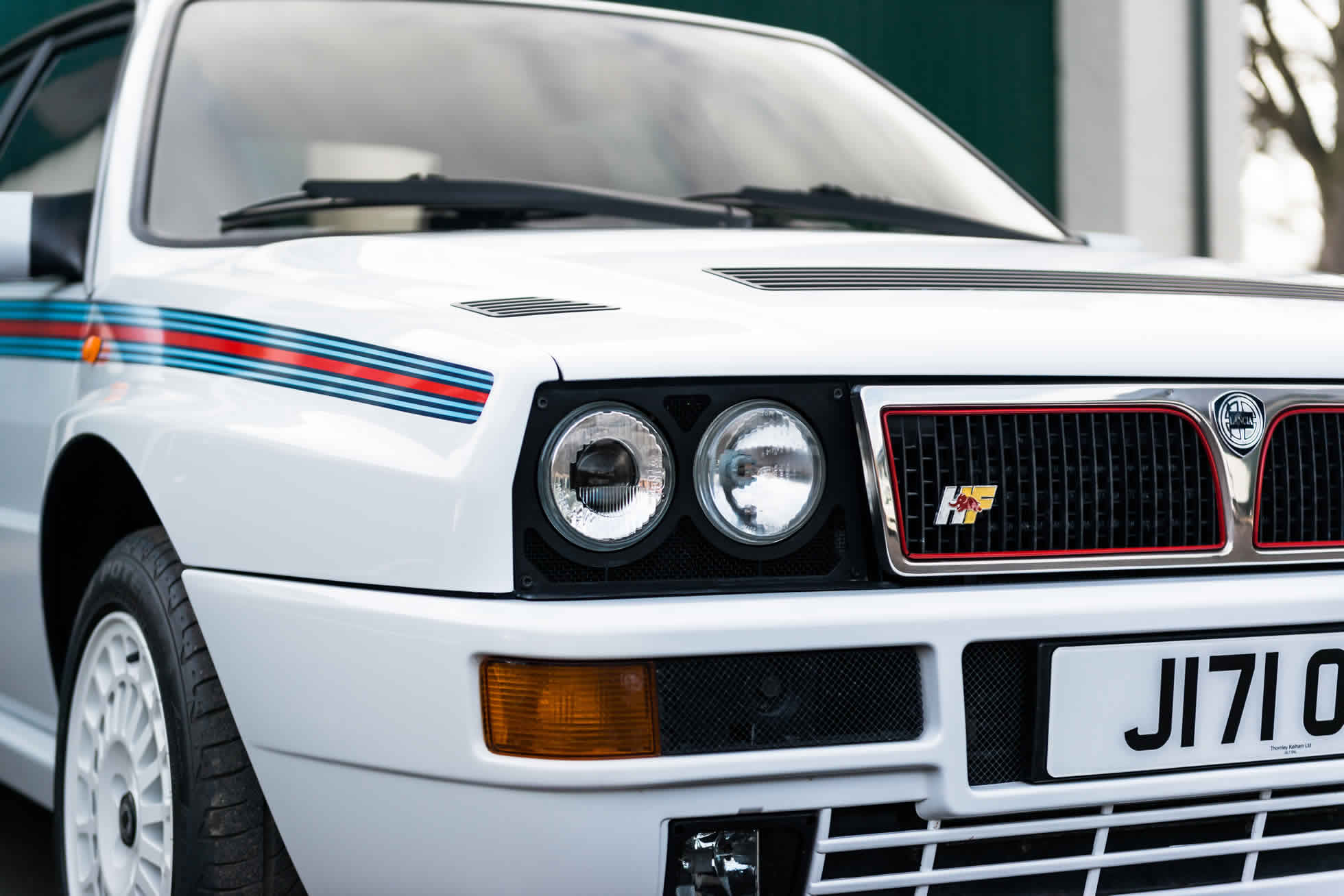 For Sale 1992 Lancia Delta Integrale EVO 'Martini 5' front view
