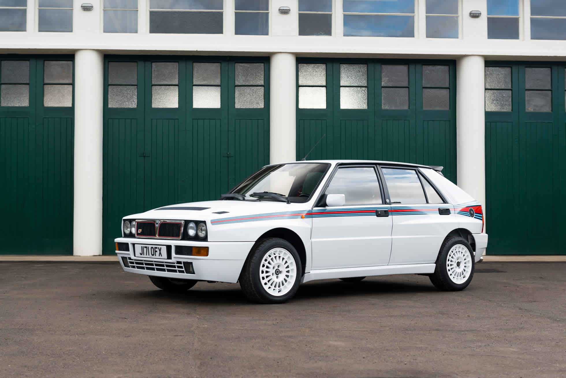 For Sale 1992 Lacia Delta Integrale EVO 'Martini 5' side views