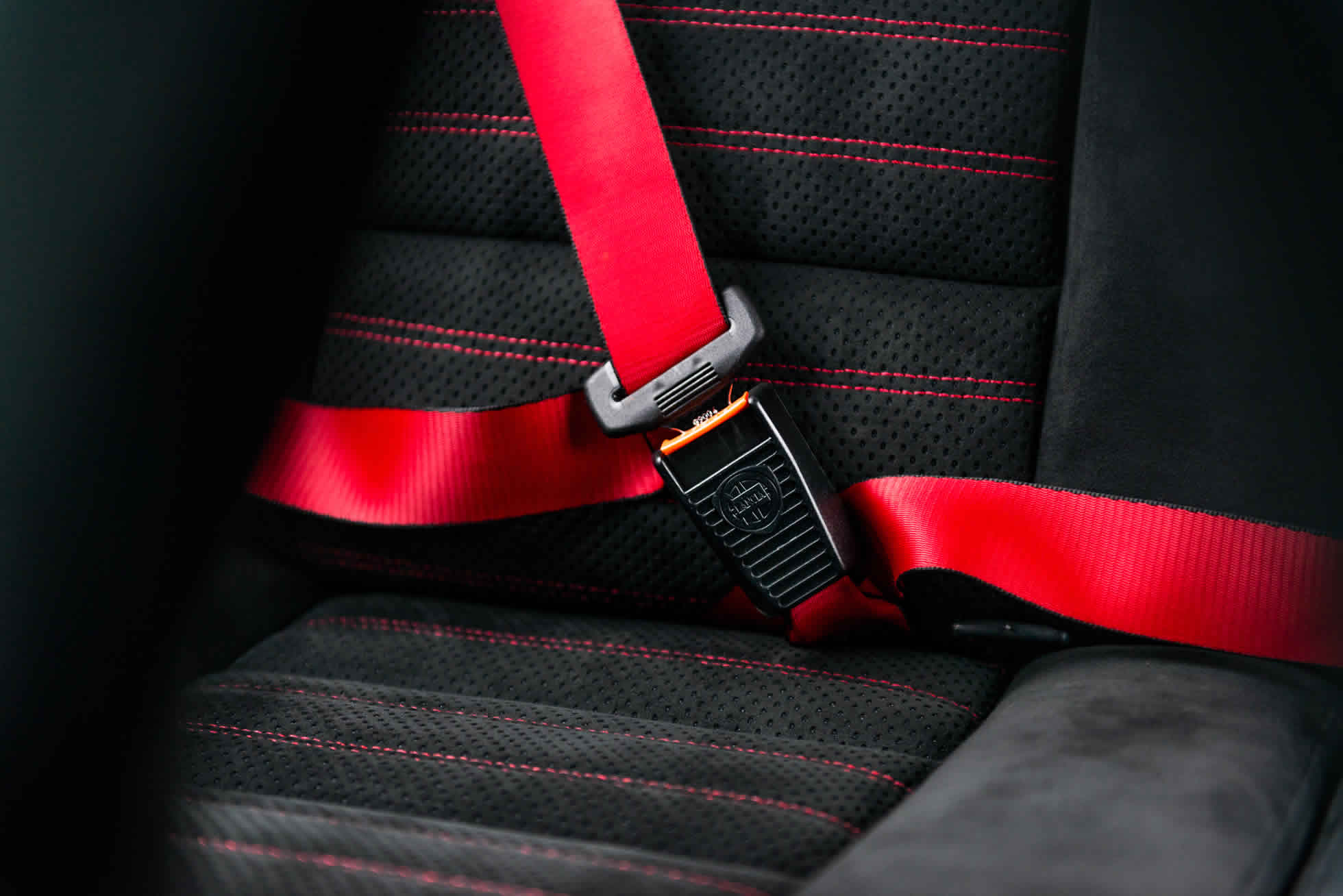 For Sale 1992 Lancia Delta Integrale EVO 'Martini 5' seat belts