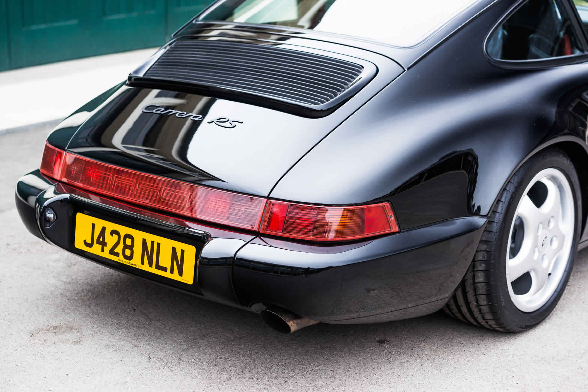 For Sale 1992 Porsche 964 RS Lightweight rear view