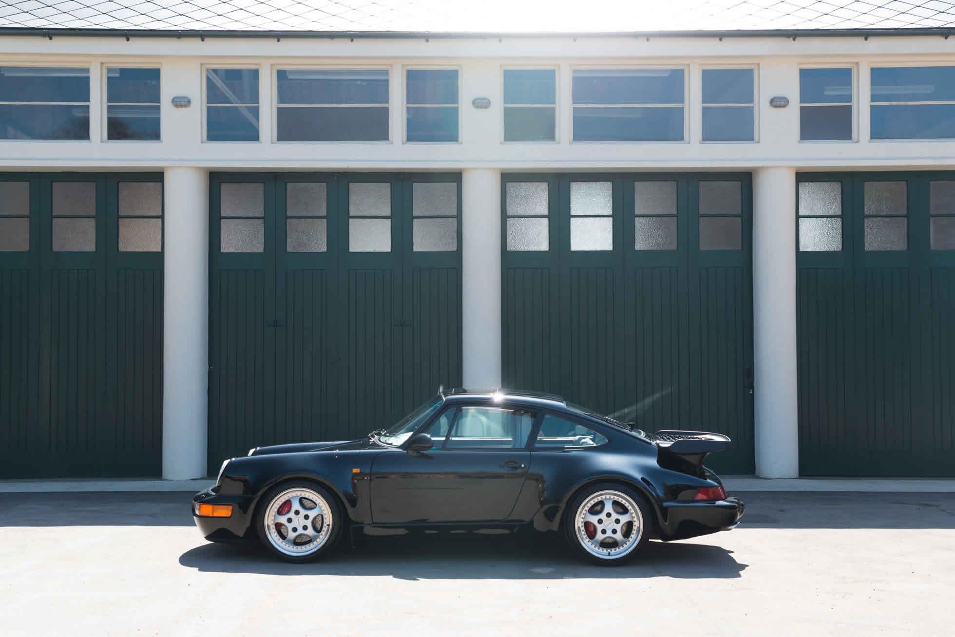 For Sale 1993 Porsche 911 964 Turbo 3.6 side view