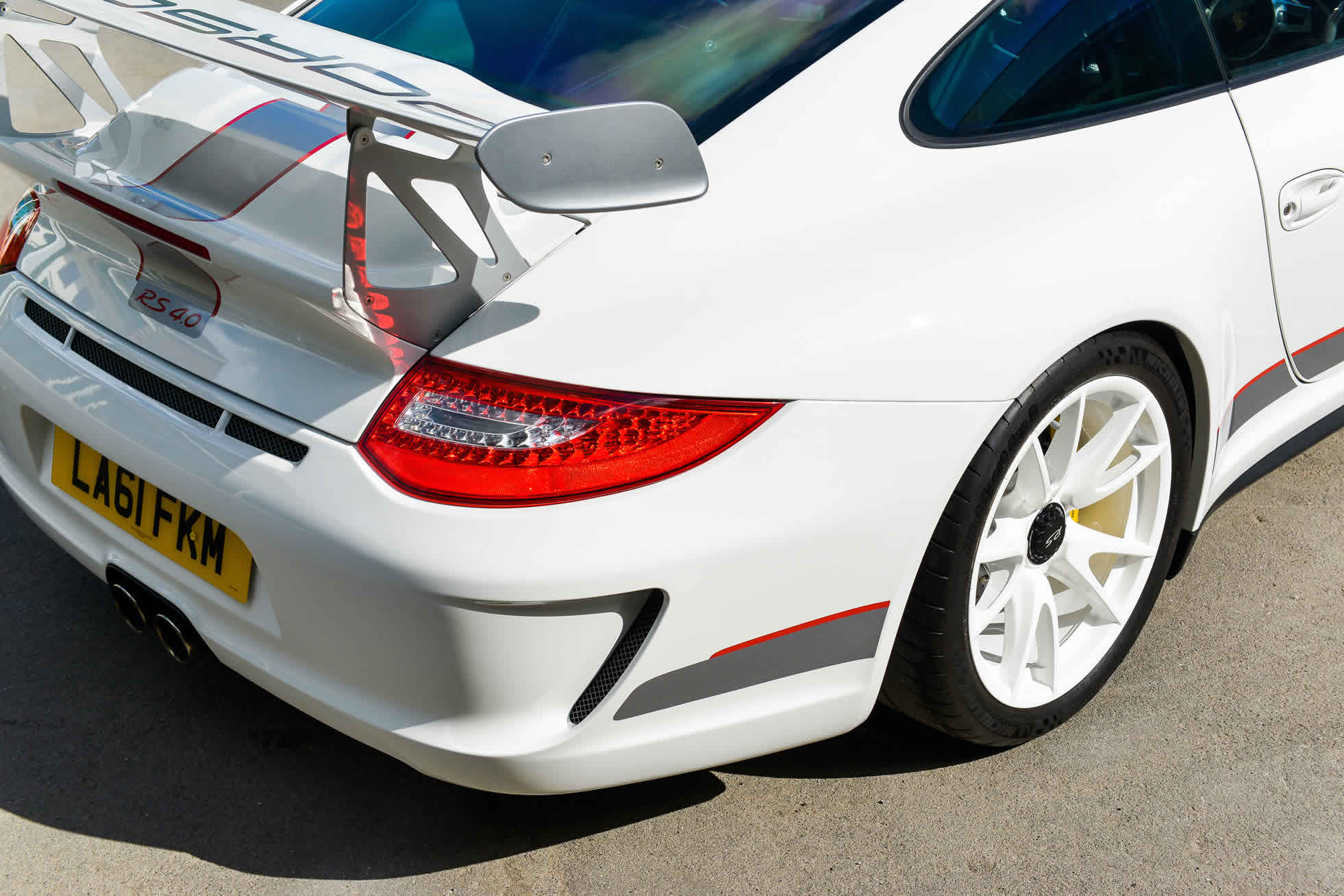 For sale 2012 Porsche 911 GT3 RS 4.0 Sports Purpose Bicester Heritage Oxfordshire rear wing