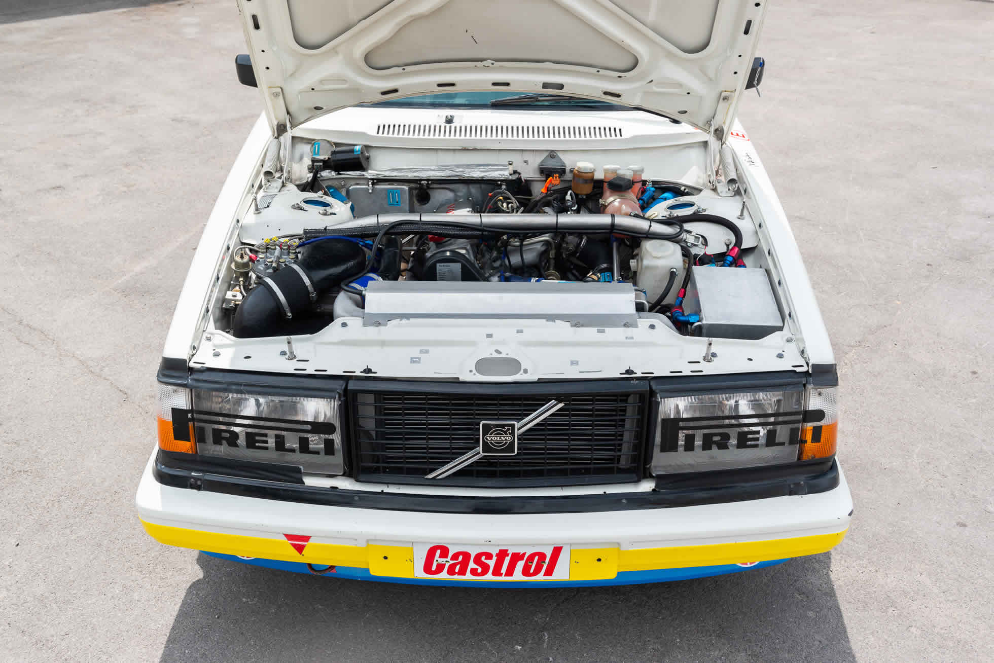 Engine For Sale 1984 Volvo 240 Turbo Group A, Sports Purpose Bicester Heritage,