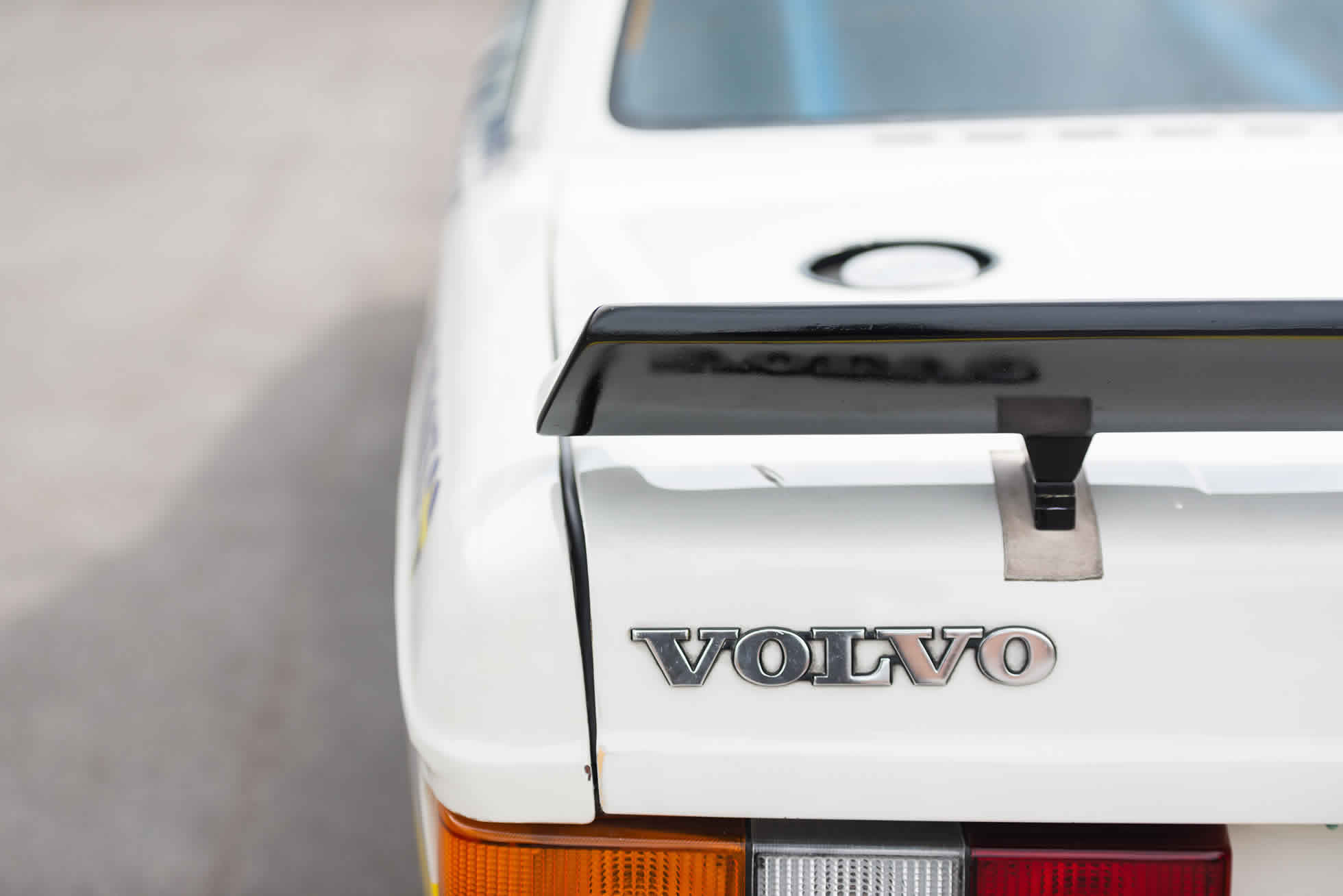 Rear wing For Sale 1984 Volvo 240 Turbo Group A, Sports Purpose Bicester Heritage,