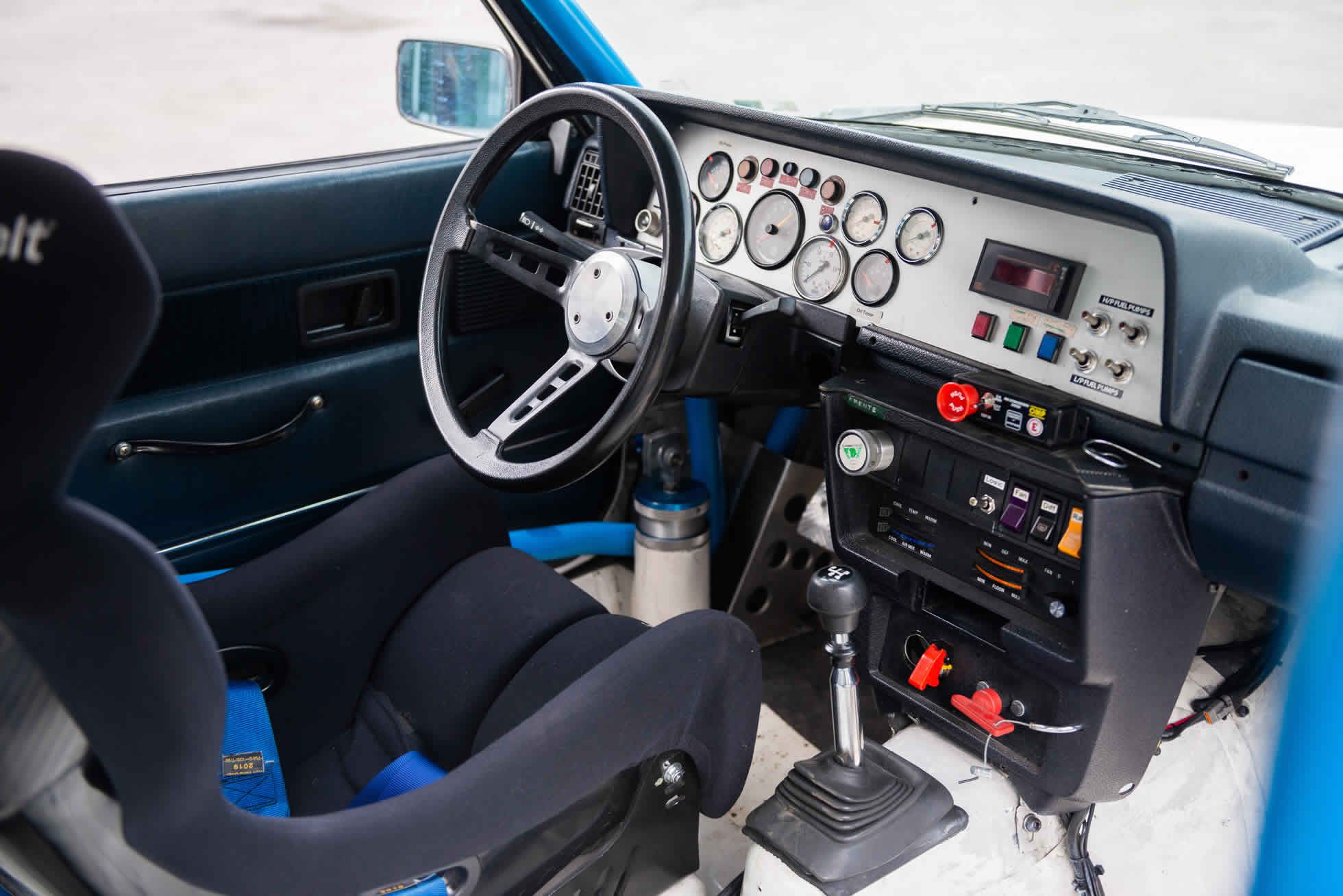 Interior For Sale 1984 Volvo 240 Turbo Group A, Sports Purpose Bicester Heritage,
