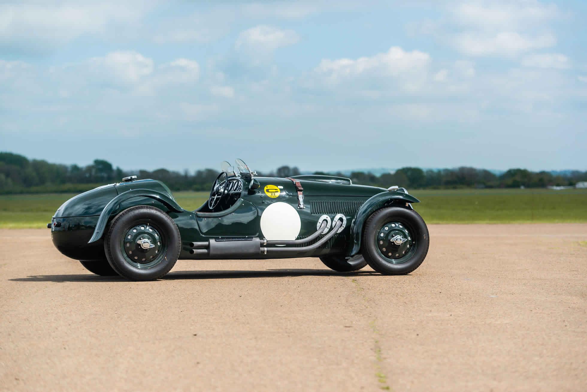 For sale 1951 Frazer Nash Le Mans Replica Mk 1, Sports Purpose Bicester Heritage, side