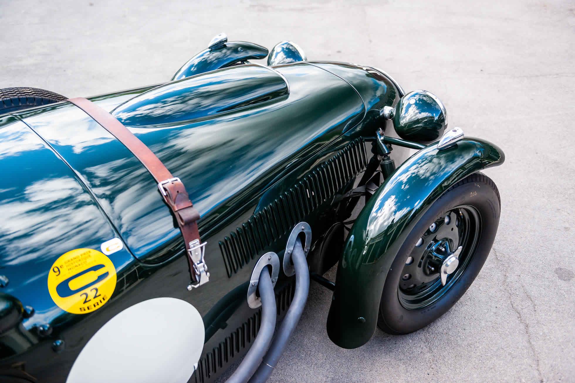 For sale 1951 Frazer Nash Le Mans Replica Mk 1, Sports Purpose Bicester Heritage, front quarter