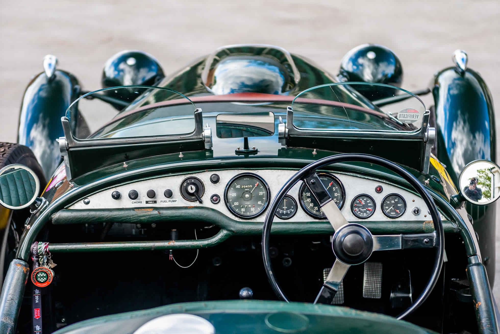 For sale 1951 Frazer Nash Le Mans Replica Mk 1, Sports Purpose Bicester Heritage, dash