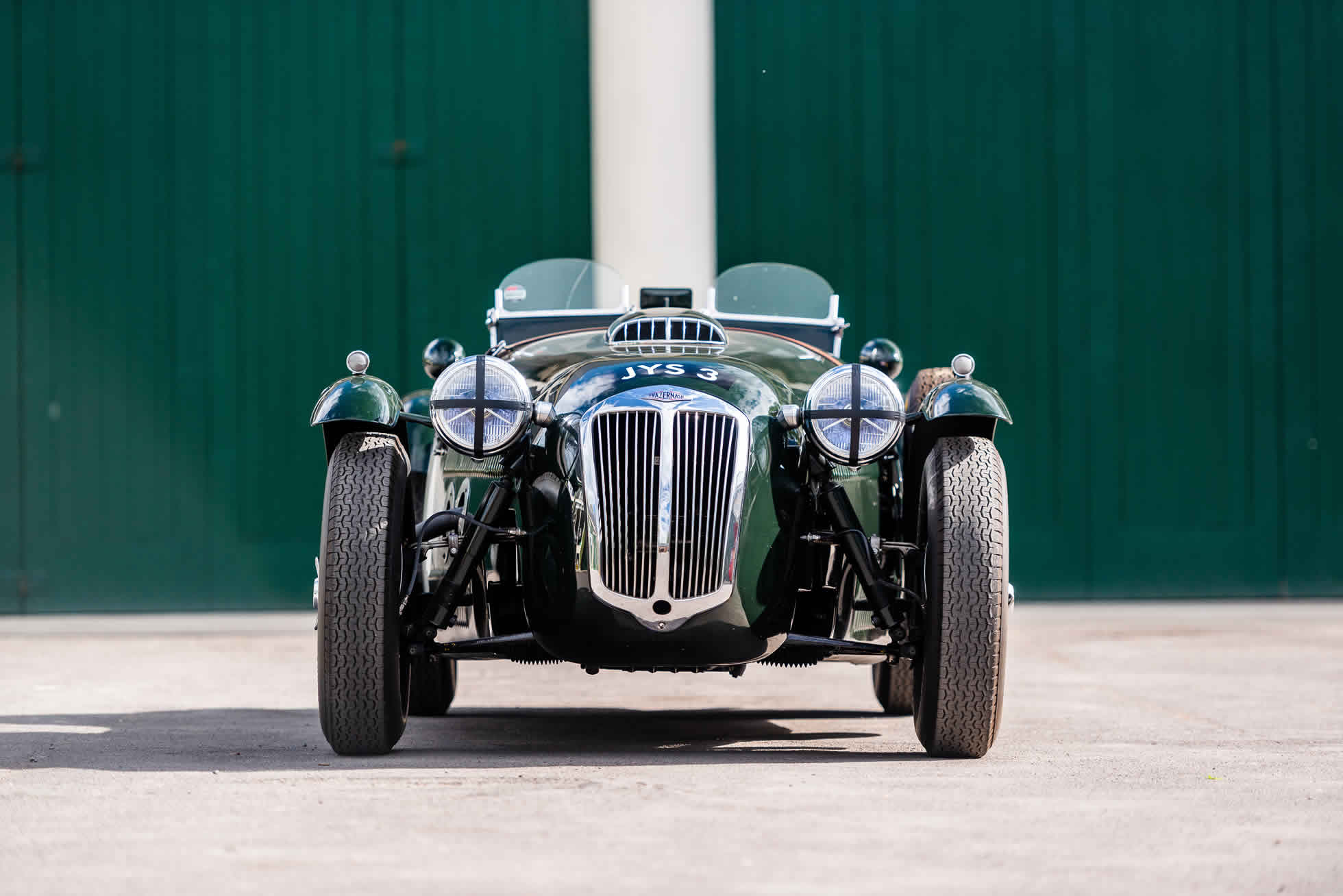 For sale 1951 Frazer Nash Le Mans Replica Mk 1, Sports Purpose Bicester Heritage, front on