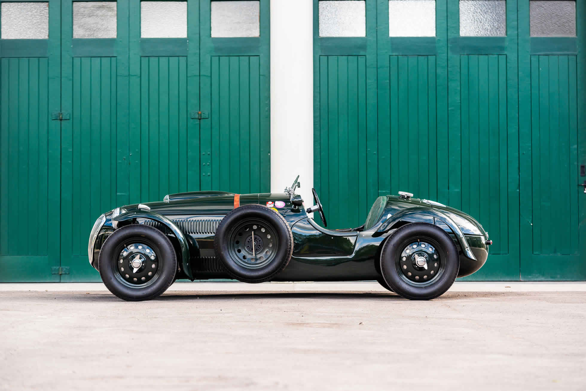 For sale 1951 Frazer Nash Le Mans Replica Mk 1, Sports Purpose Bicester Heritage, alternative side view