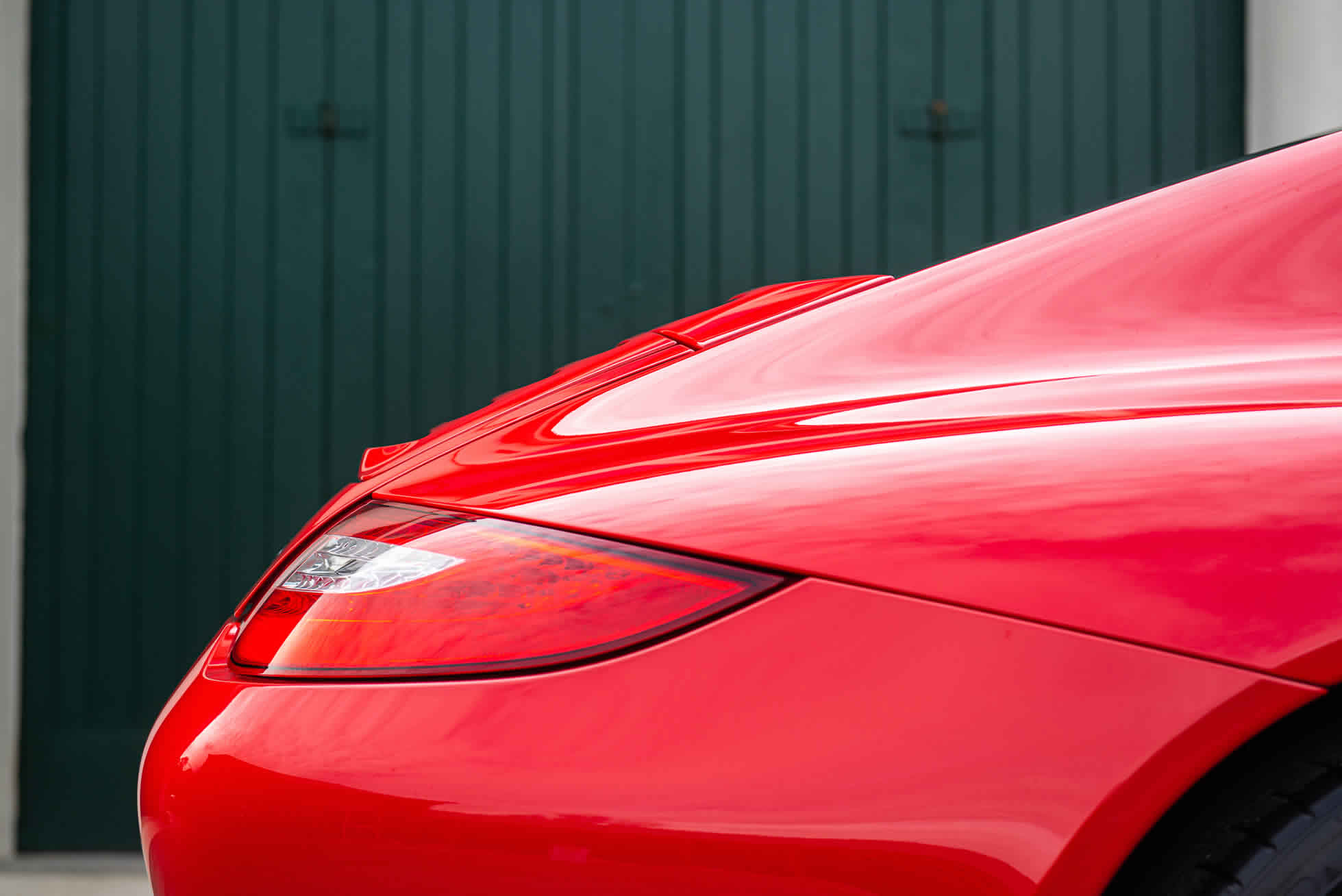 Rear view 2011 Porsche 911 Carrera GTS For Sale at Sports Purpose, Bicester Heriatge