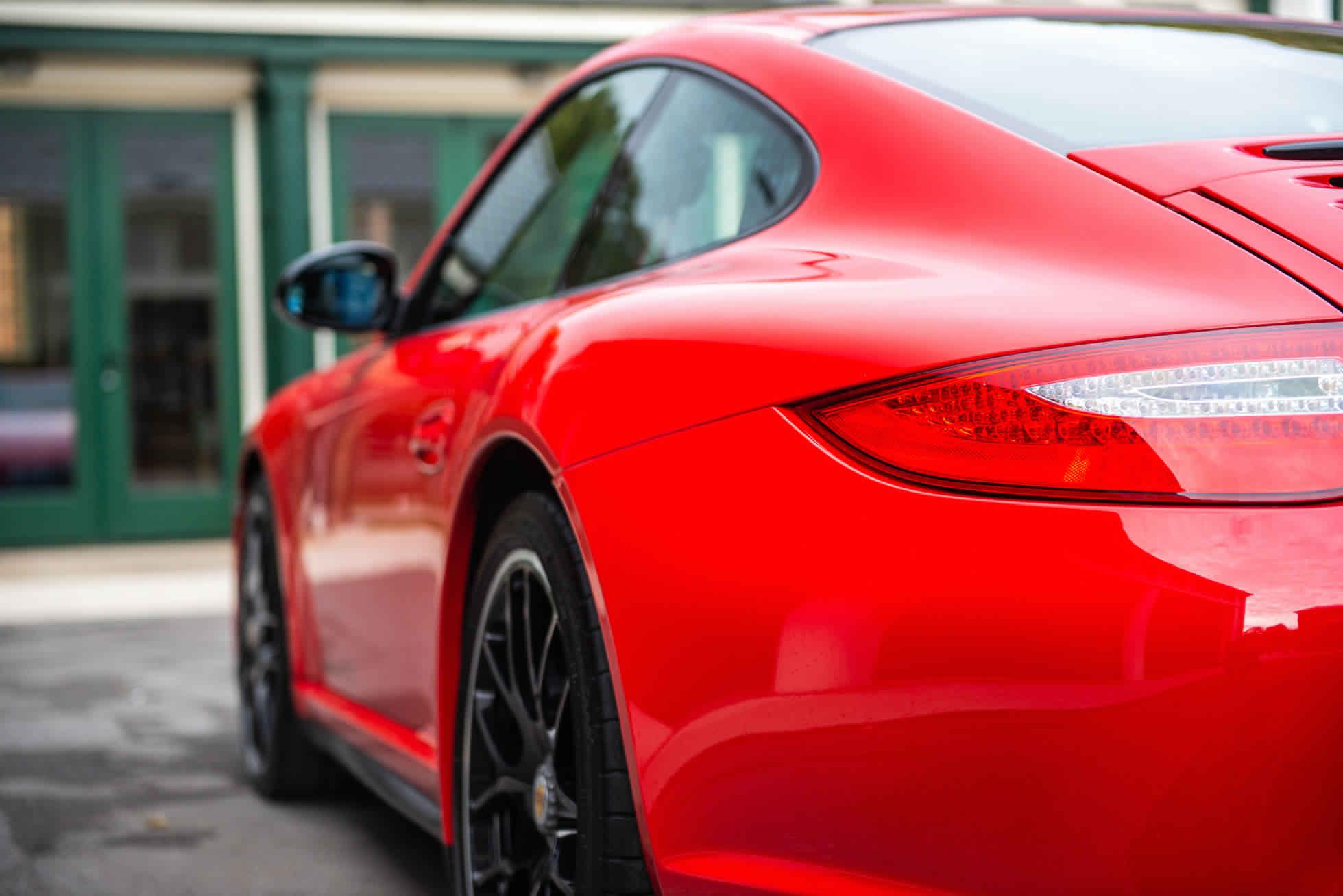 Rear quarter 2011 Porsche 911 Carrera GTS For Sale at Sports Purpose, Bicester Heriatge