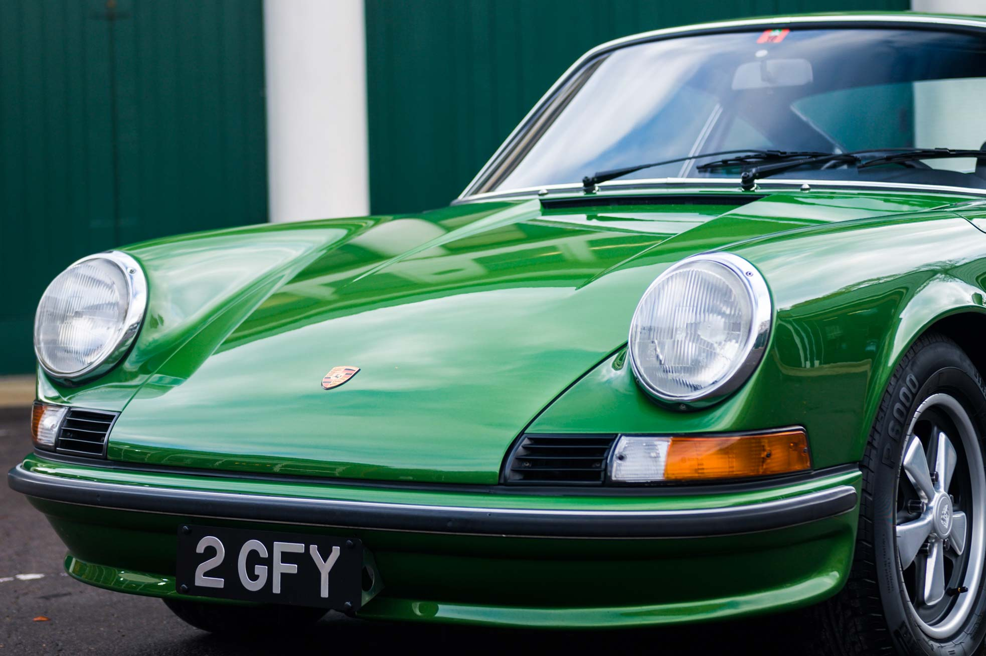 1973 Porsche 911S 2.4. For Sale Sports Purpose, Bicester Heritage, Oxon.