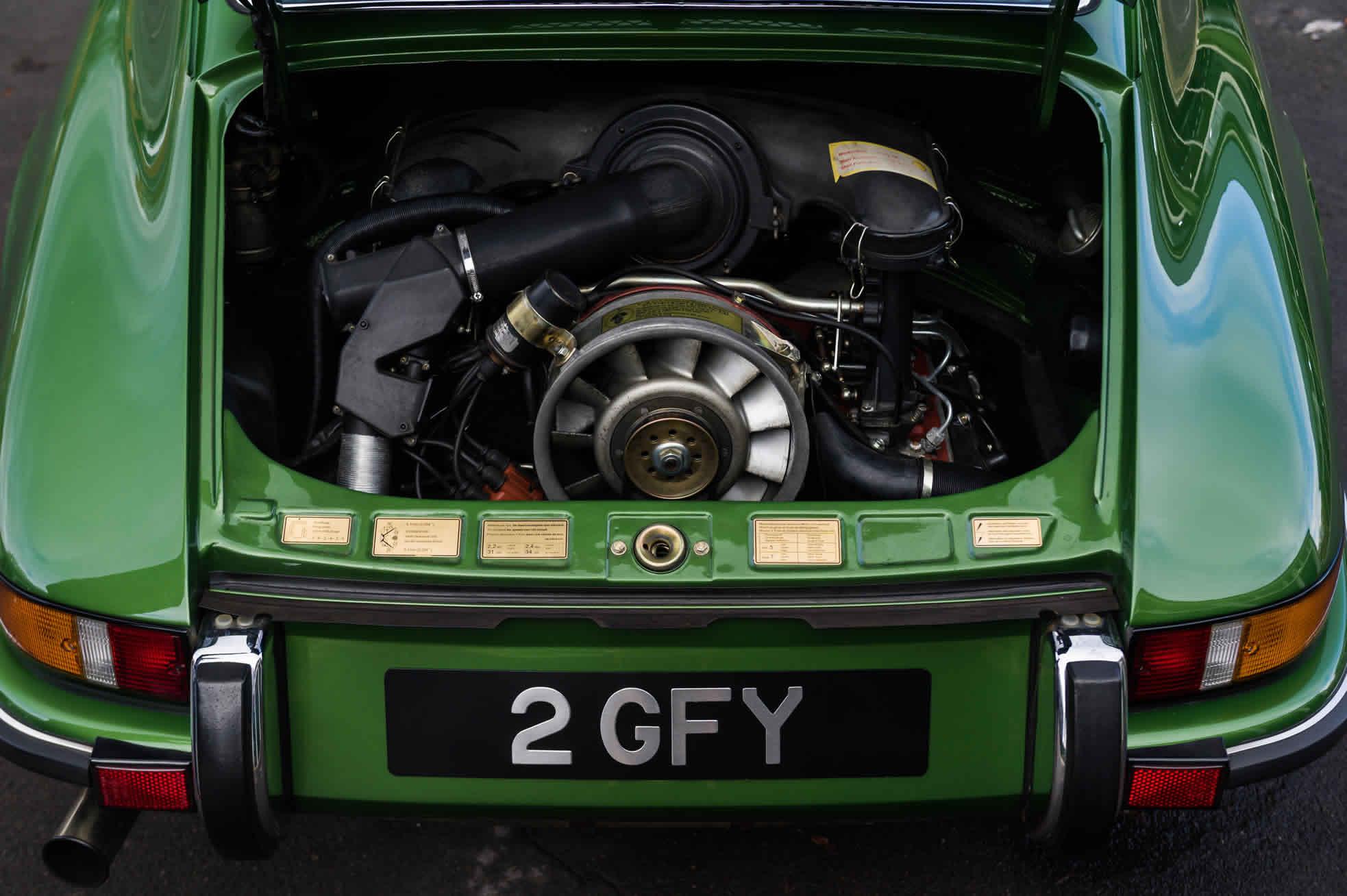 1973 Porsche 911S 2.4. For Sale Sports Purpose, Bicester Heritage, Oxon.