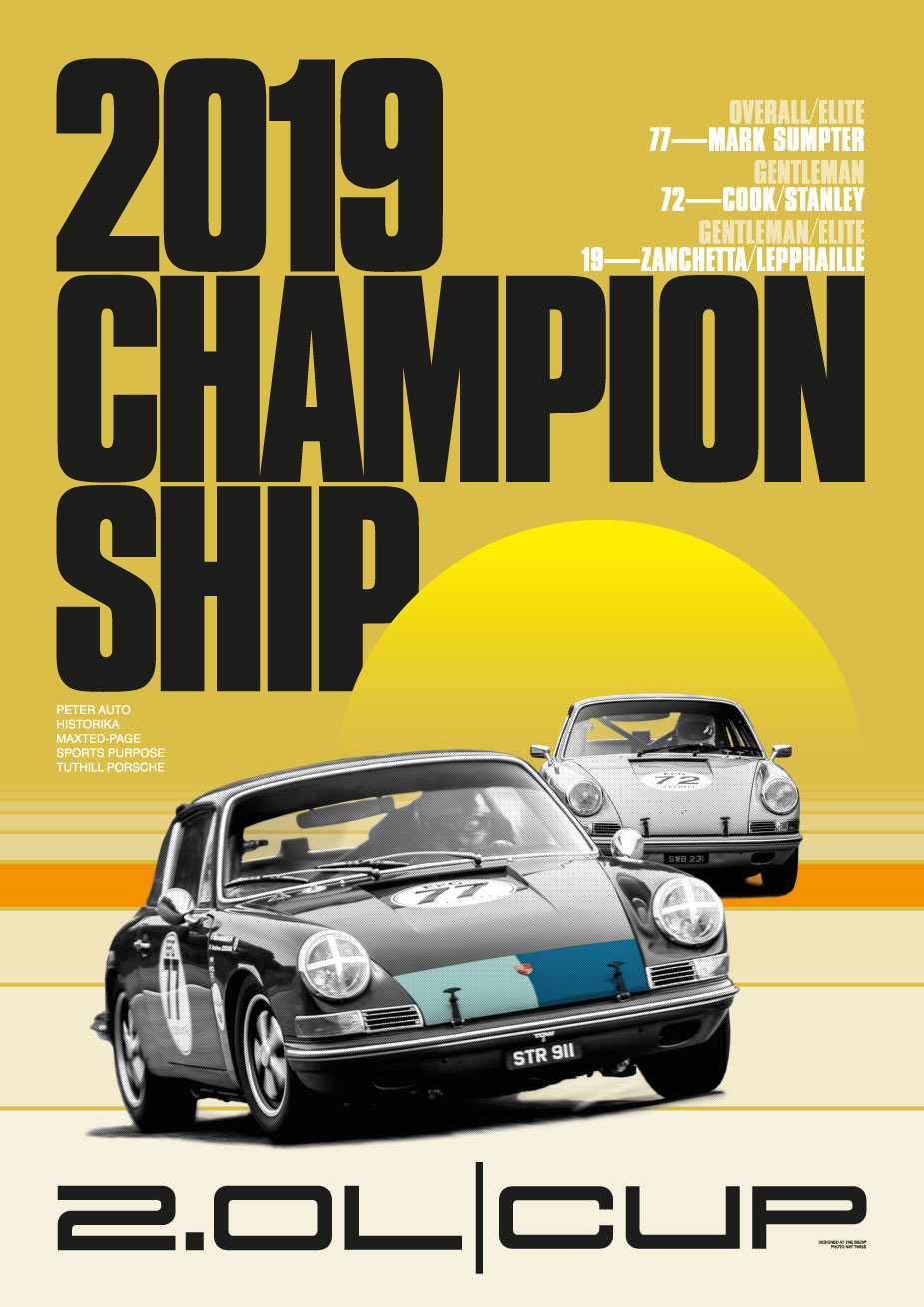 2019 2-Litre Cup Championship Poster
