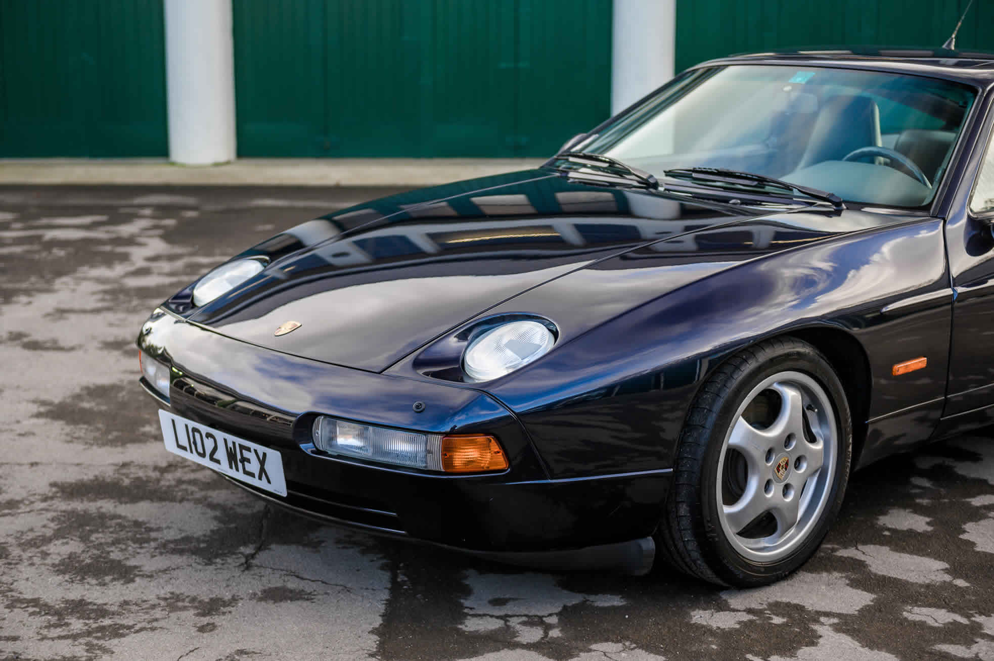 For Sale, 1992 Porsche 928 GTS, Sports Purpose Porsche Specialists, front view