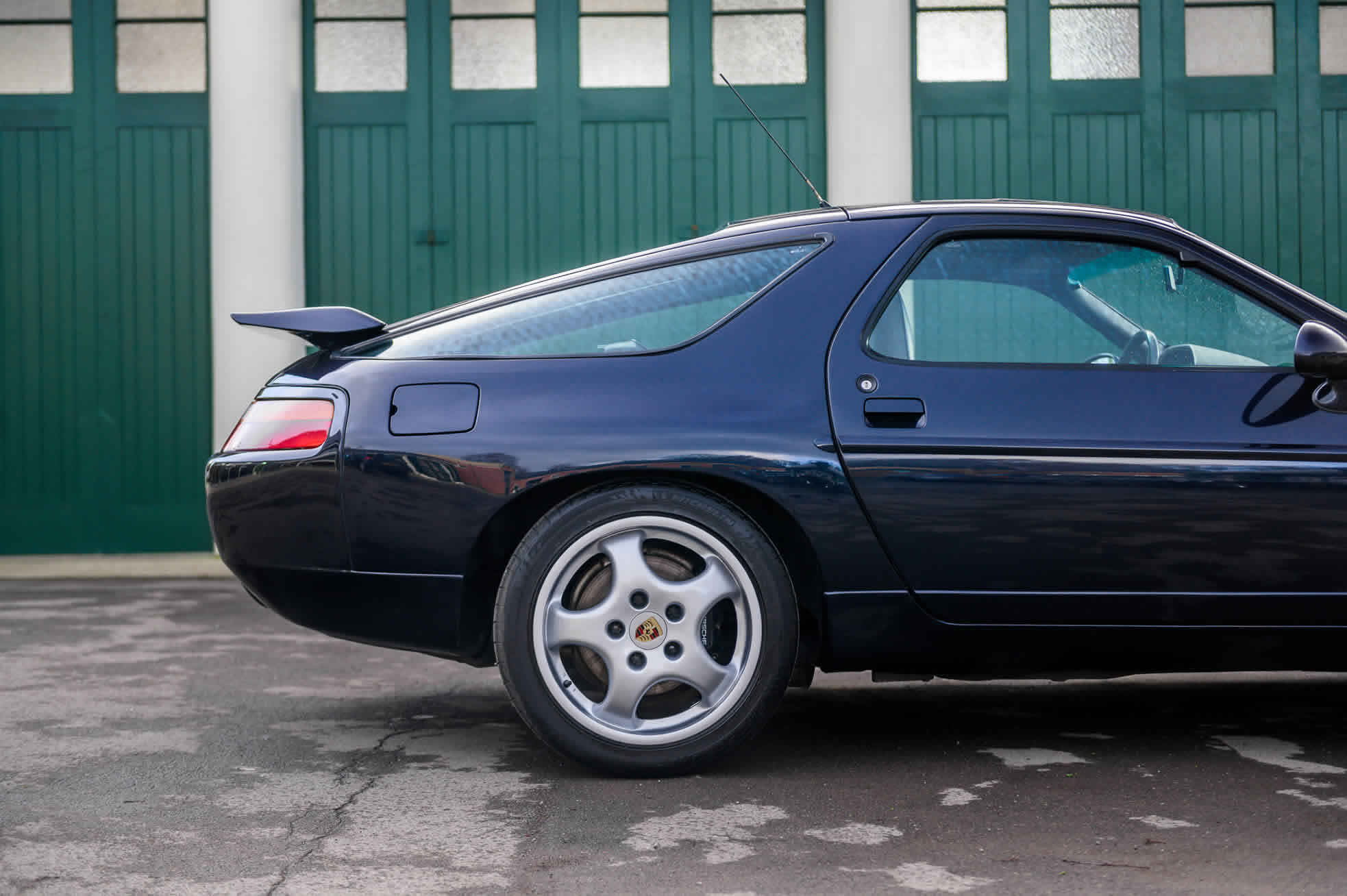 For Sale, 1992 Porsche 928 GTS, Sports Purpose Porsche Specialists, side rear view