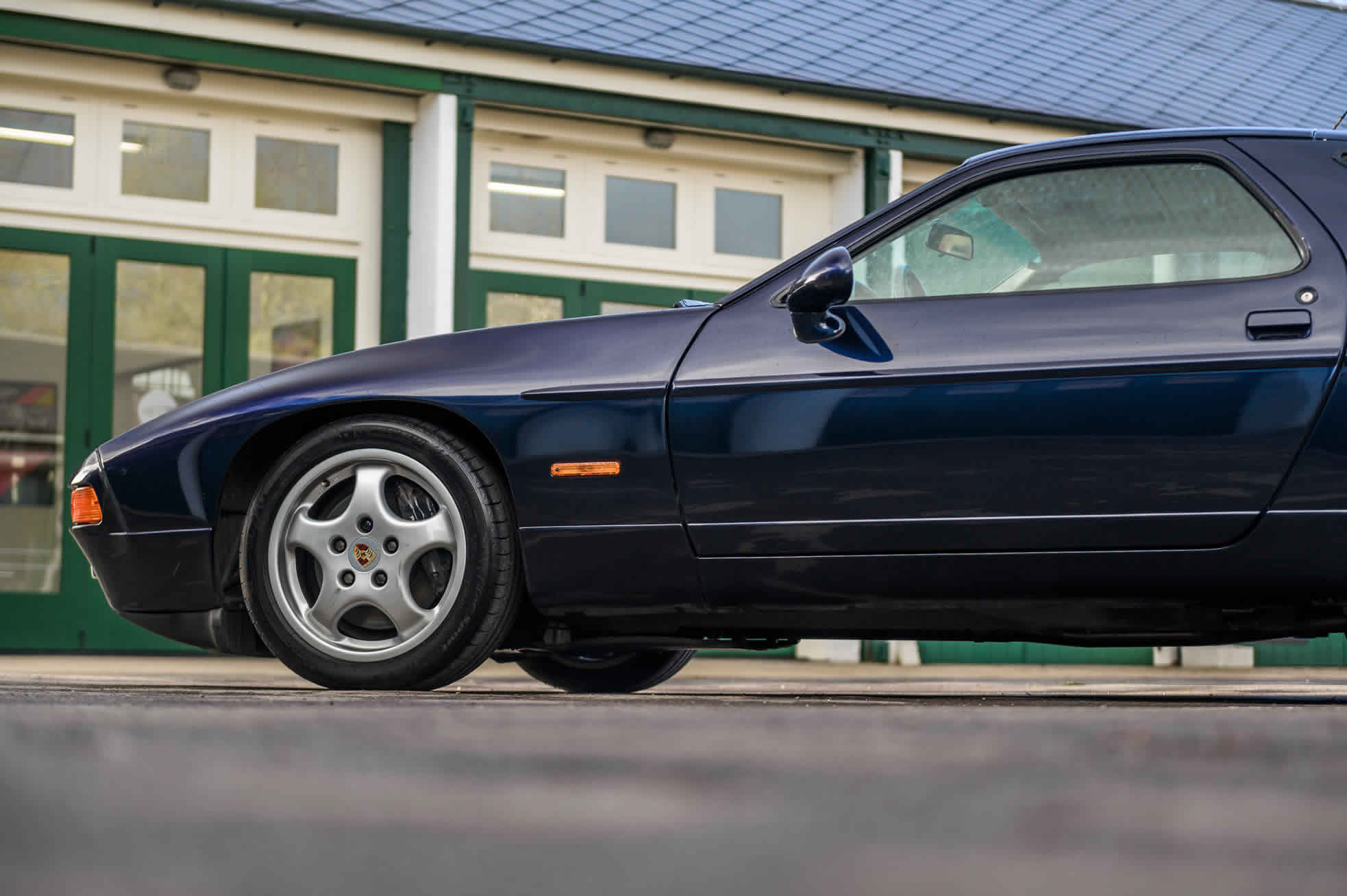 For Sale, 1992 Porsche 928 GTS, Sports Purpose Porsche Specialists, side profile