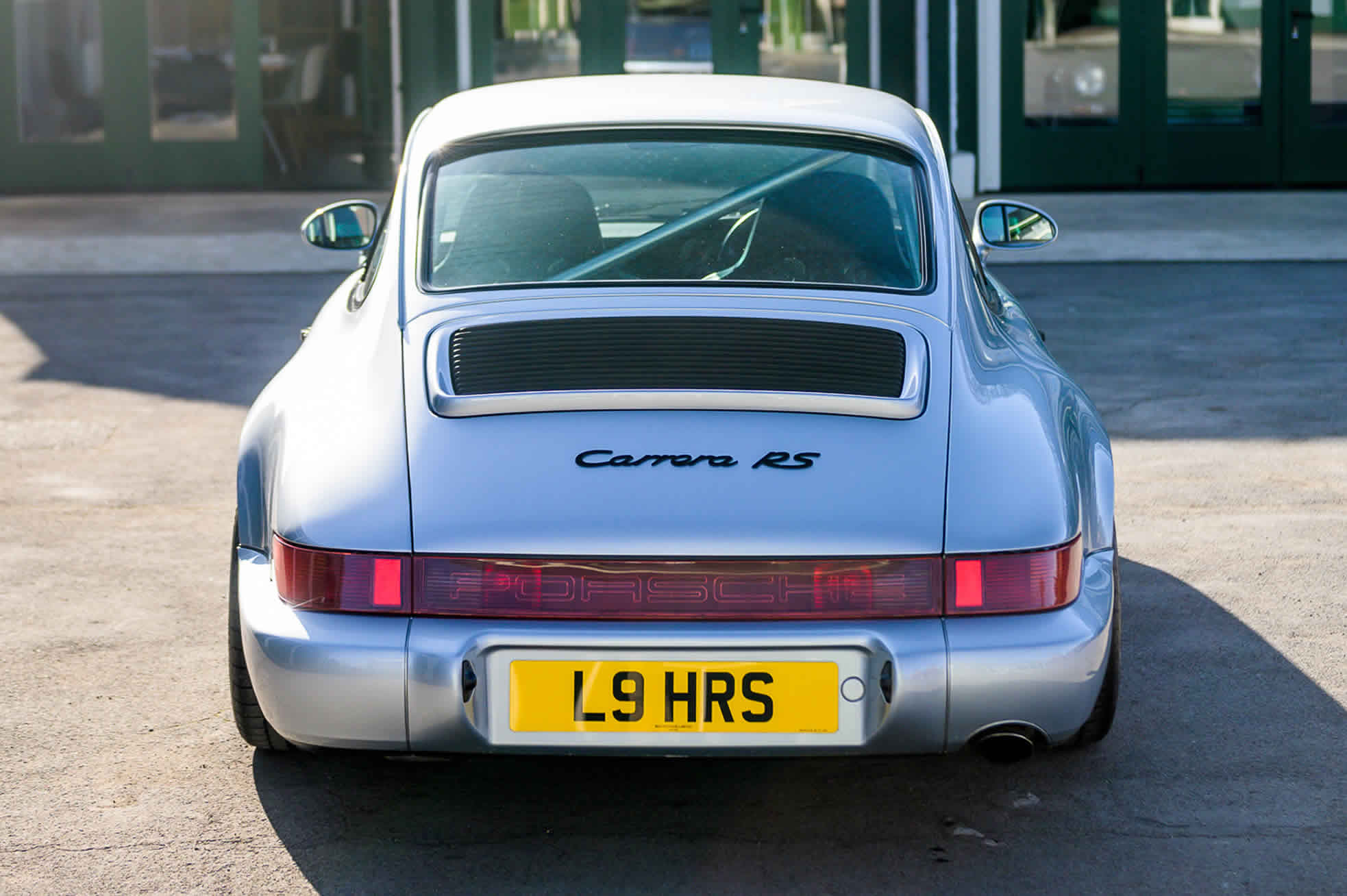 1992 Porsche 964 RS (RHD), for Sale at Sports Purpose, Bicester Heritage, Oxon - rear