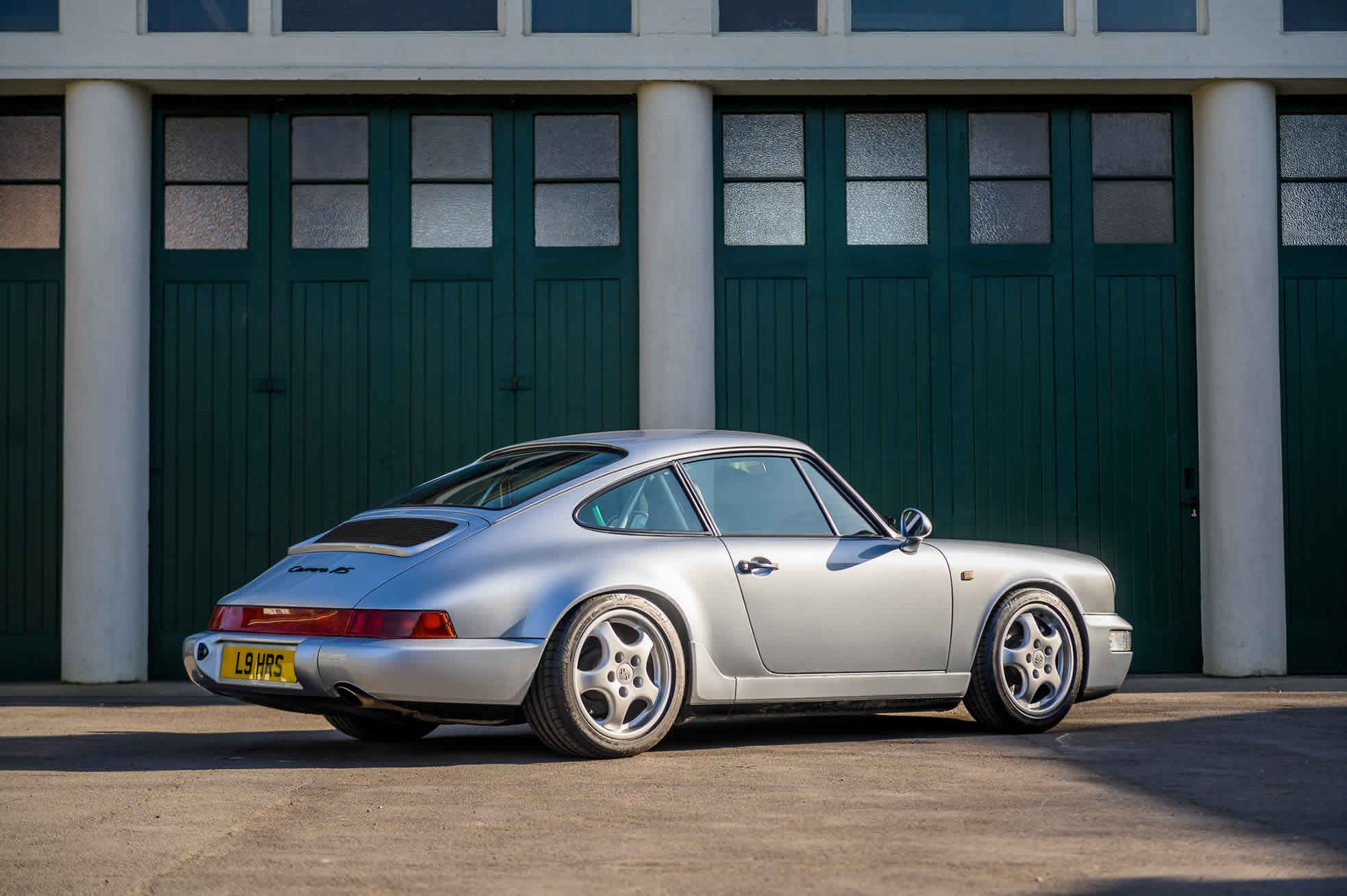 1992 Porsche 964 RS (RHD), for Sale at Sports Purpose, Bicester Heritage, Oxon - rear quarter