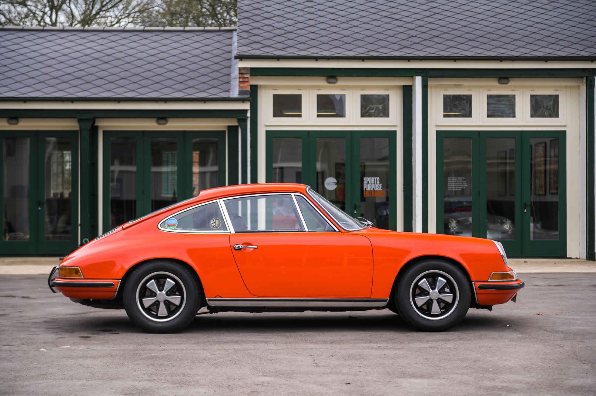 For Sale 1970 Porsche 911S 2.2, Sports Purpose, Bicester Heritage,
