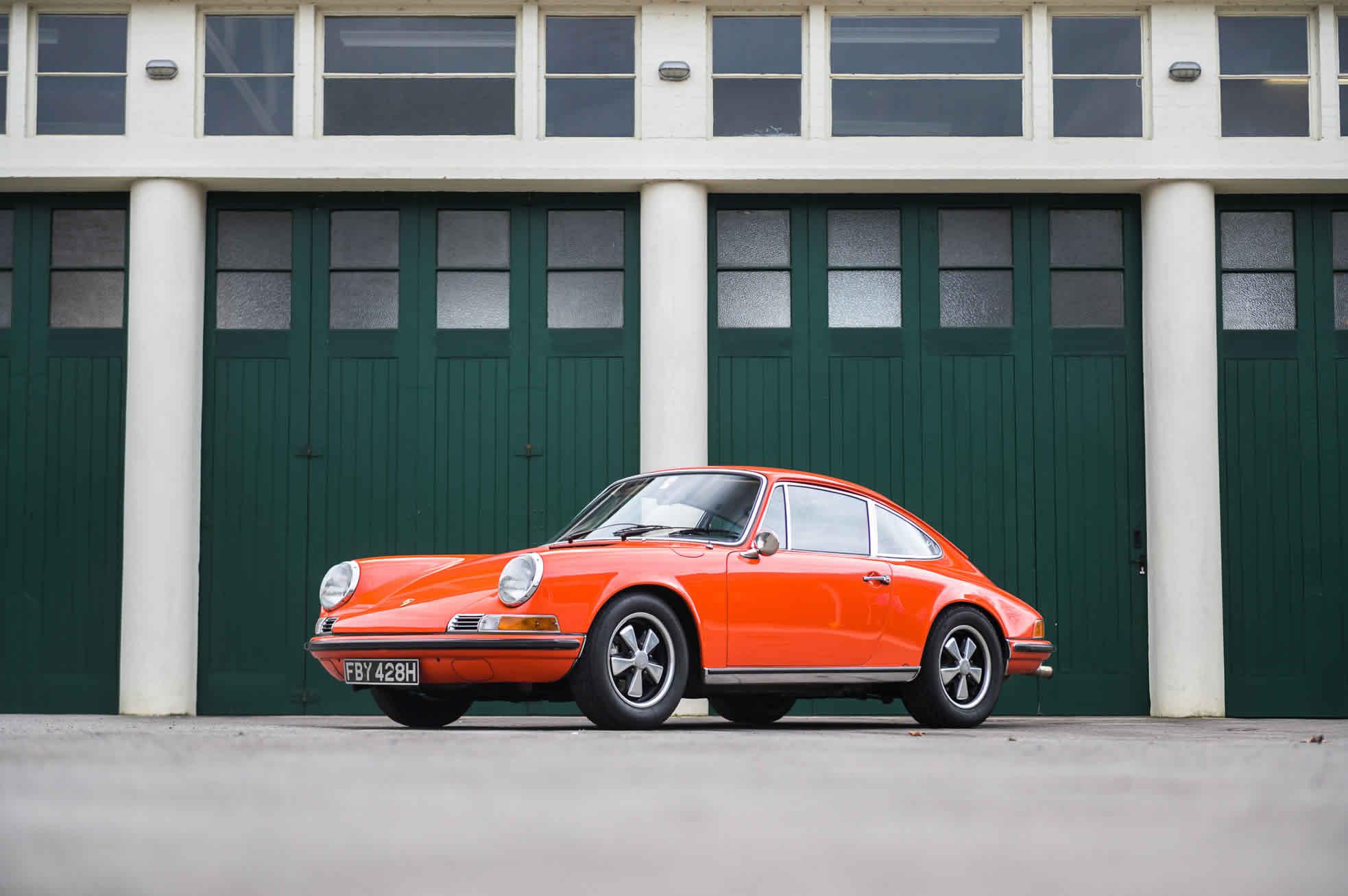 For Sale 1970 Porsche 911S 2.2 front quarter