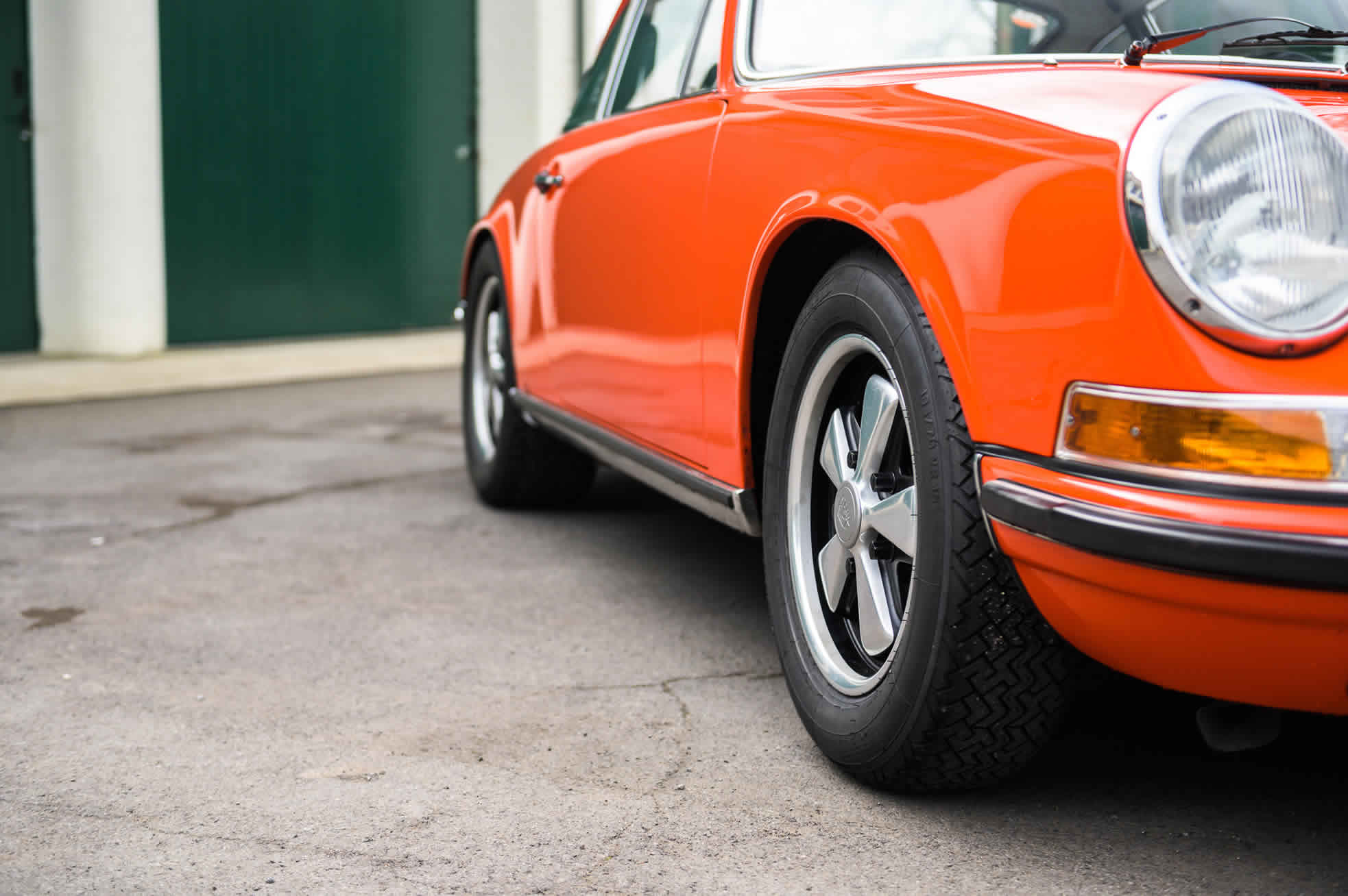 For Sale 1970 Porsche 911S 2.2 side on