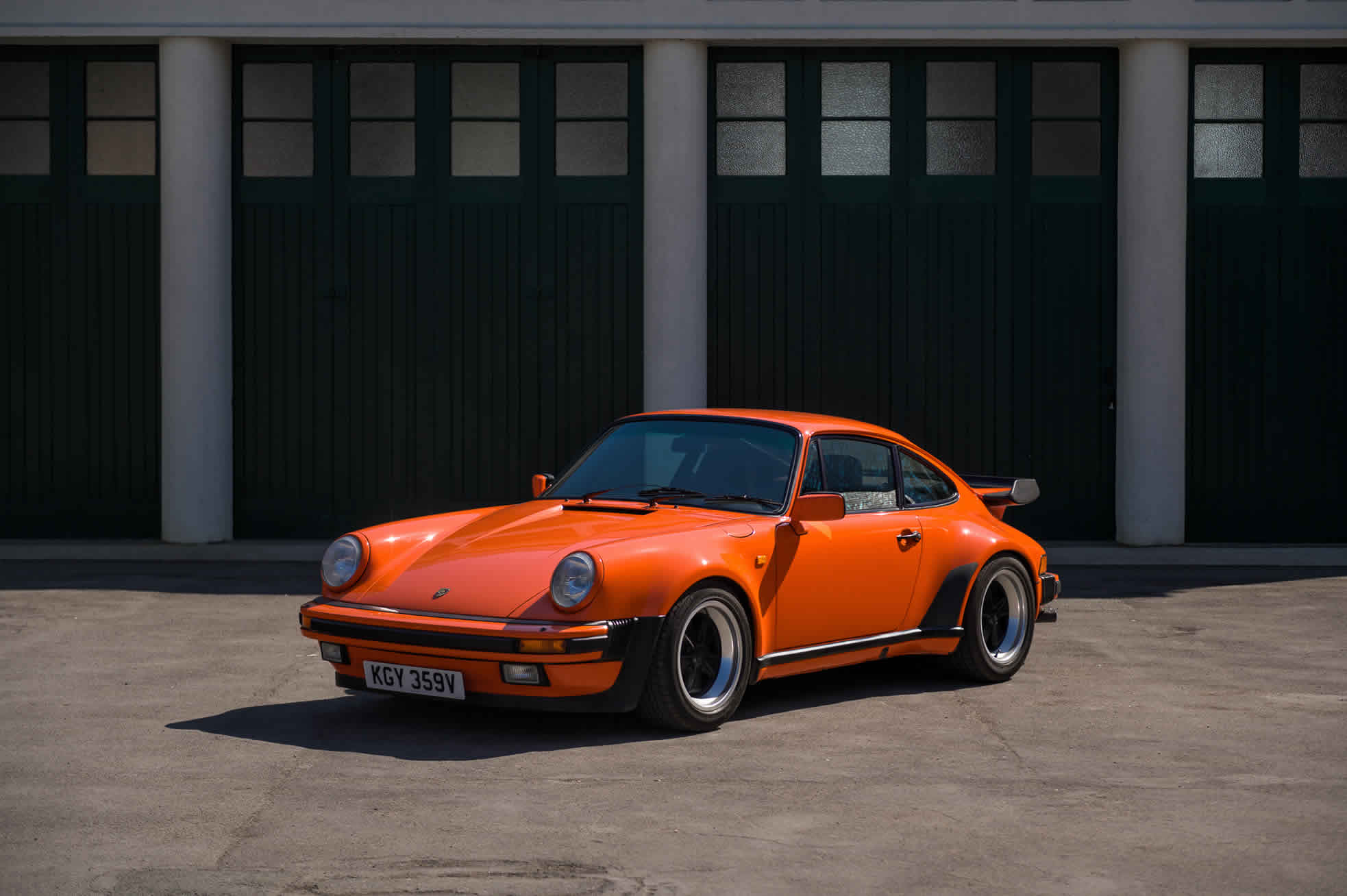 For Sale 1980 Porsche 911 Turbo 3.3. Sports Purpose, Bicester Heritage, Oxon, UK