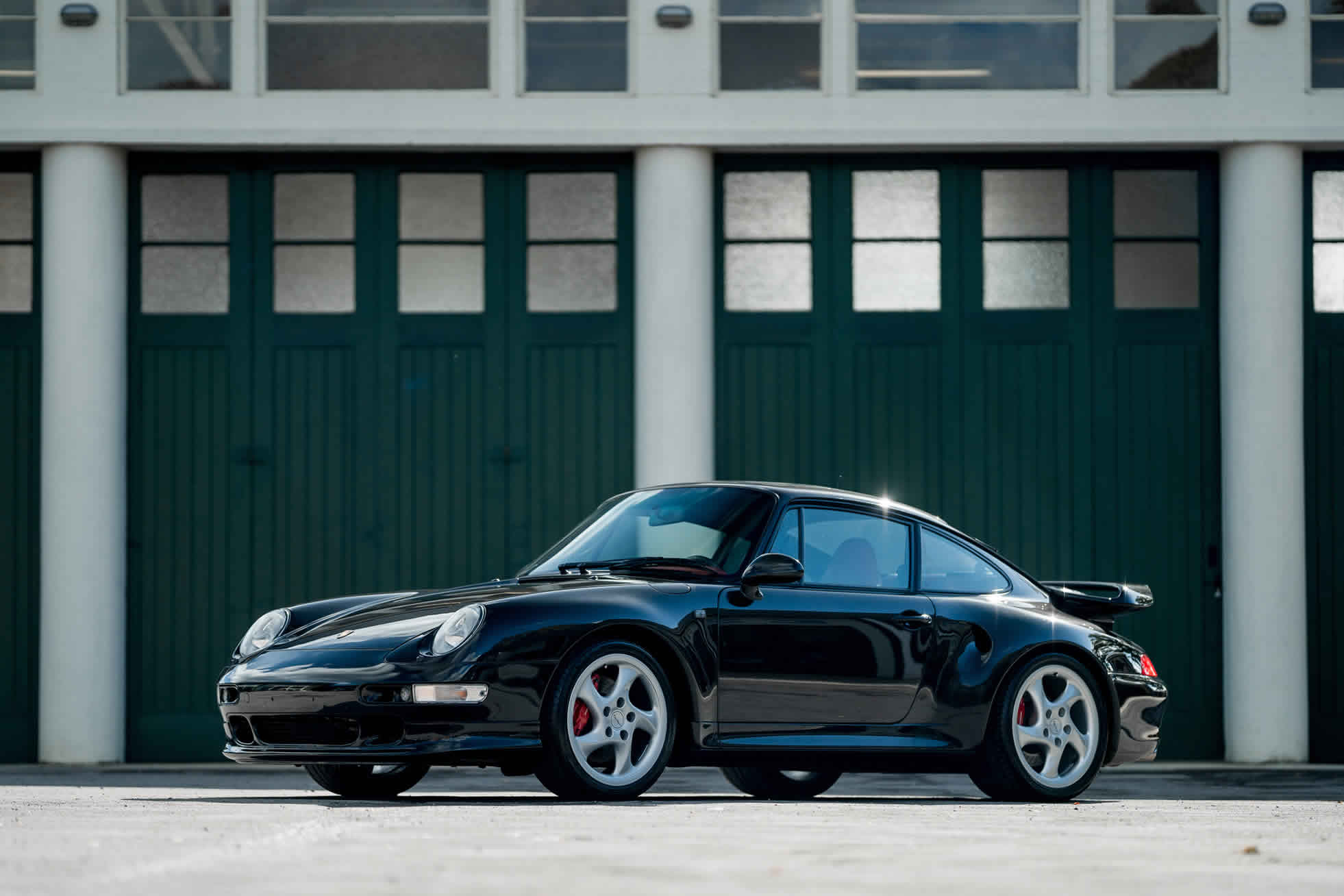 For sale 1998 PORSCHE 993 Turbo WLS II. Sports
