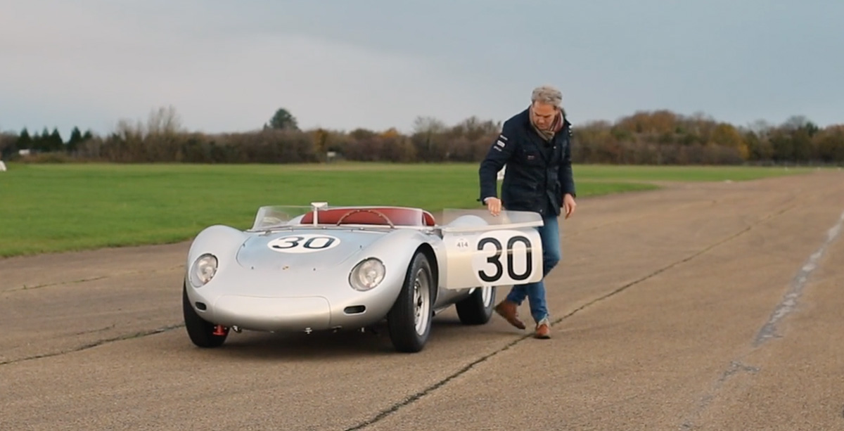 718 RSK chassis 004 factory car, Le Mans 1958