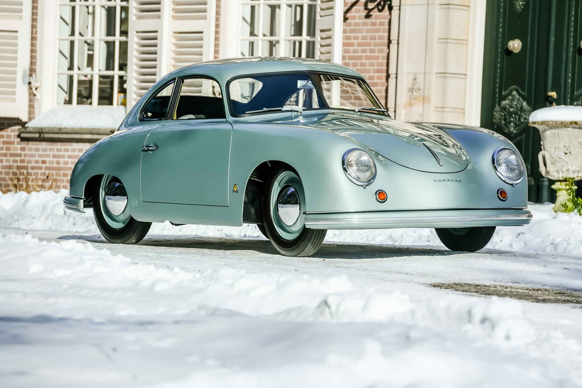 For sale an extremely rare 1951 Porsche 356. Sports Purpose, Bicester Heritage, Oxon, UK