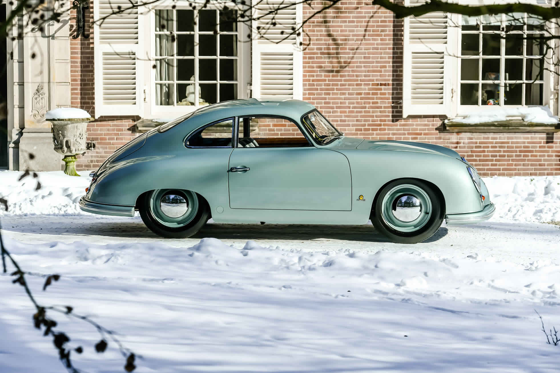 For sale an extremely rare 1951 Porsche 356. Sports Purpose, Bicester Heritage, Oxon