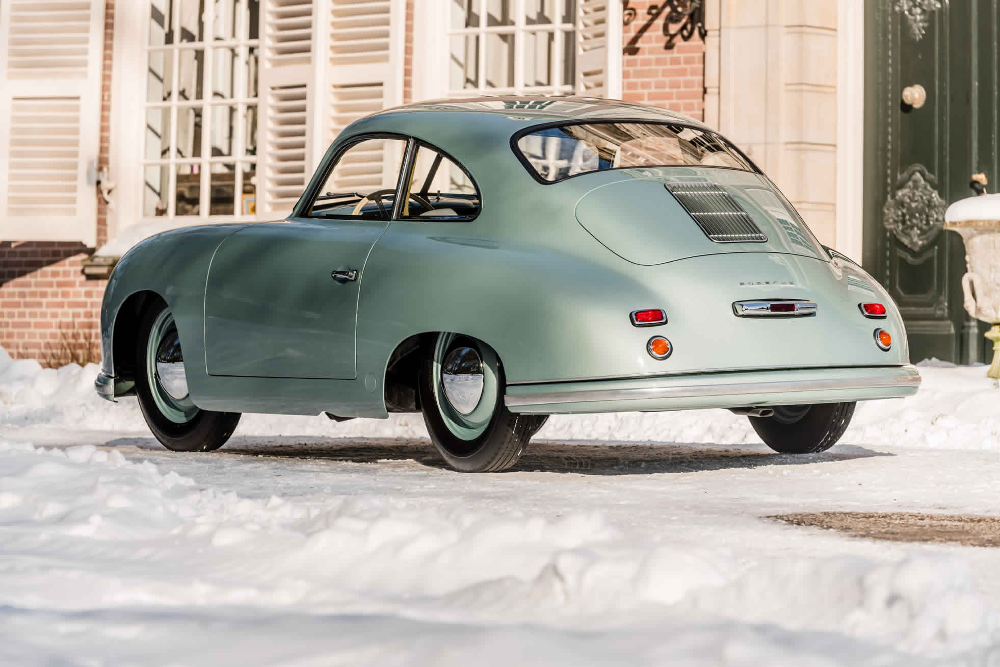 For sale an extremely rare 1951 Porsche 356. Sports Purpose, Bicester Heritage