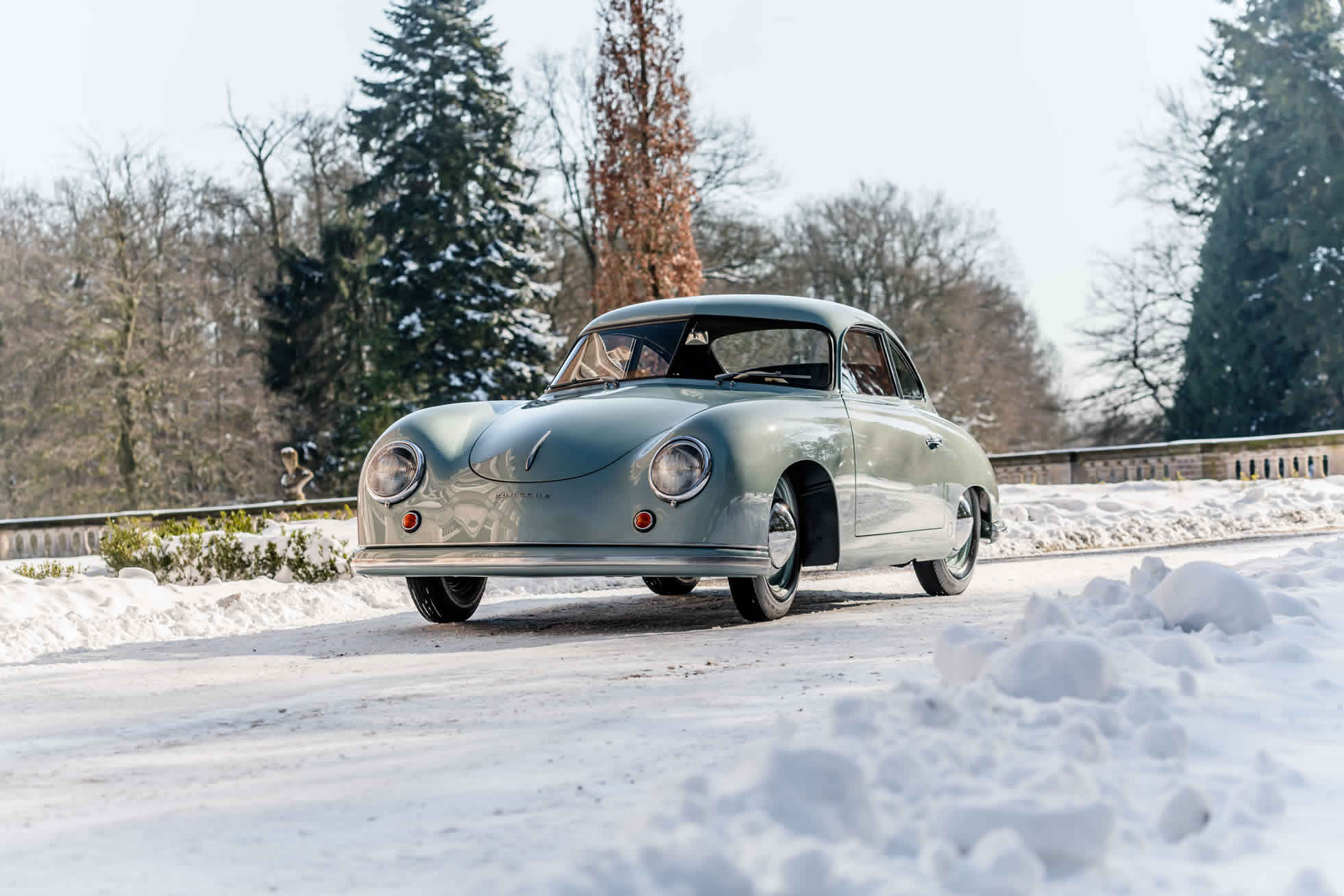 For sale an extremely rare 1951 Porsche 356. Sports Purpose