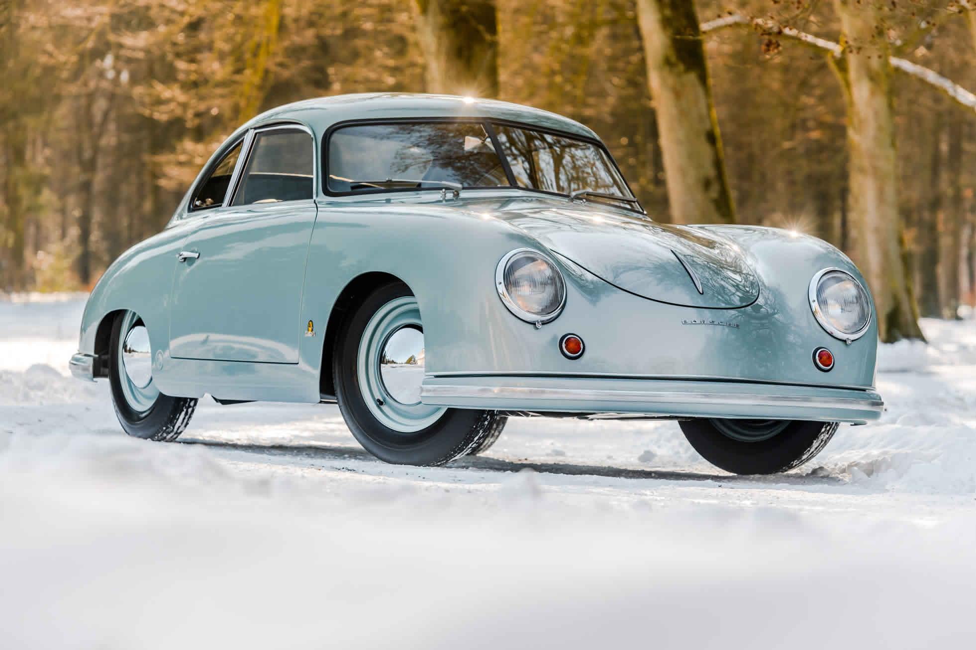 For sale an extremely rare 1951 Porsche 356