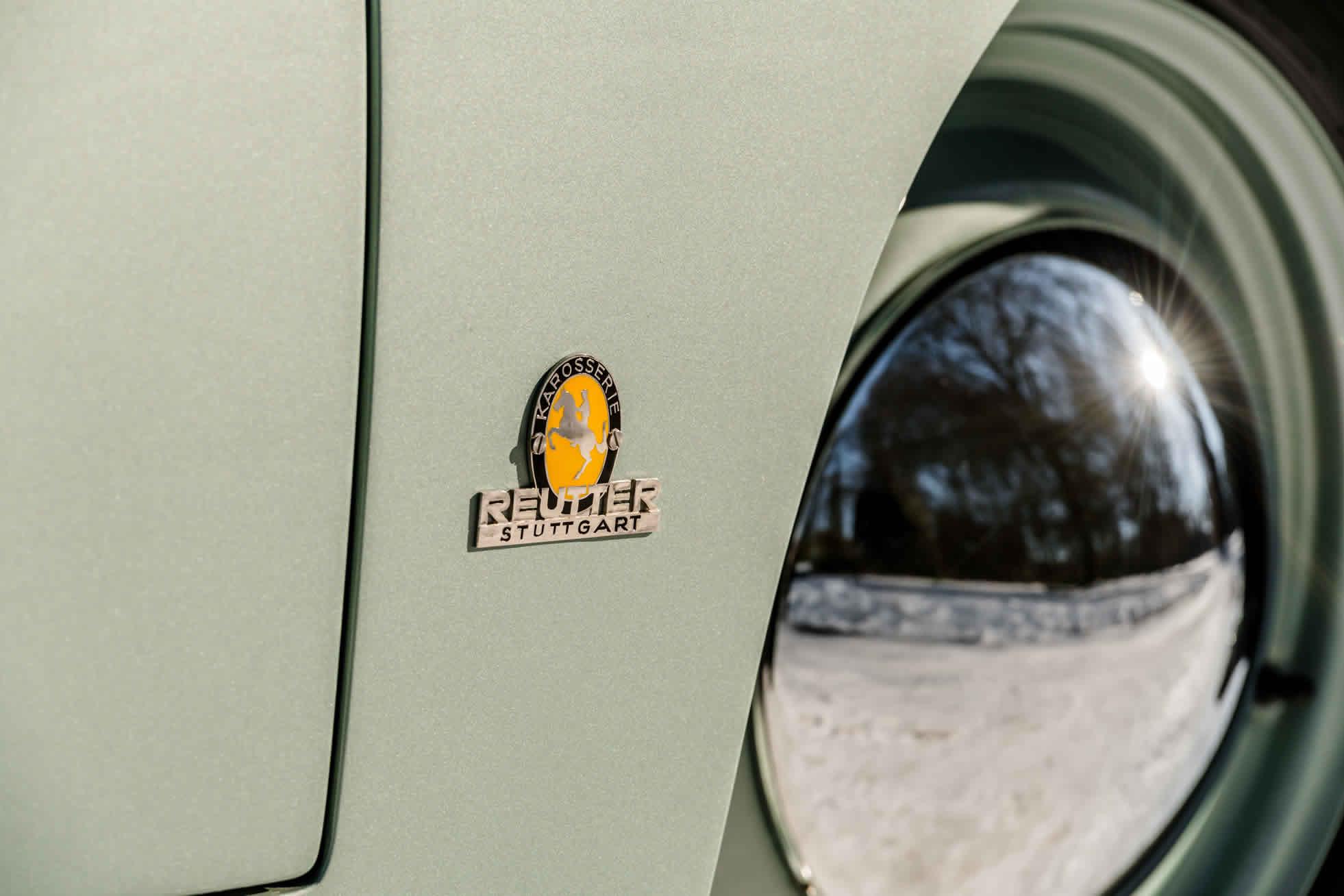 For sale rare 1951 Porsche 356. Sports Purpose, Bicester Heritage, Oxon, UK