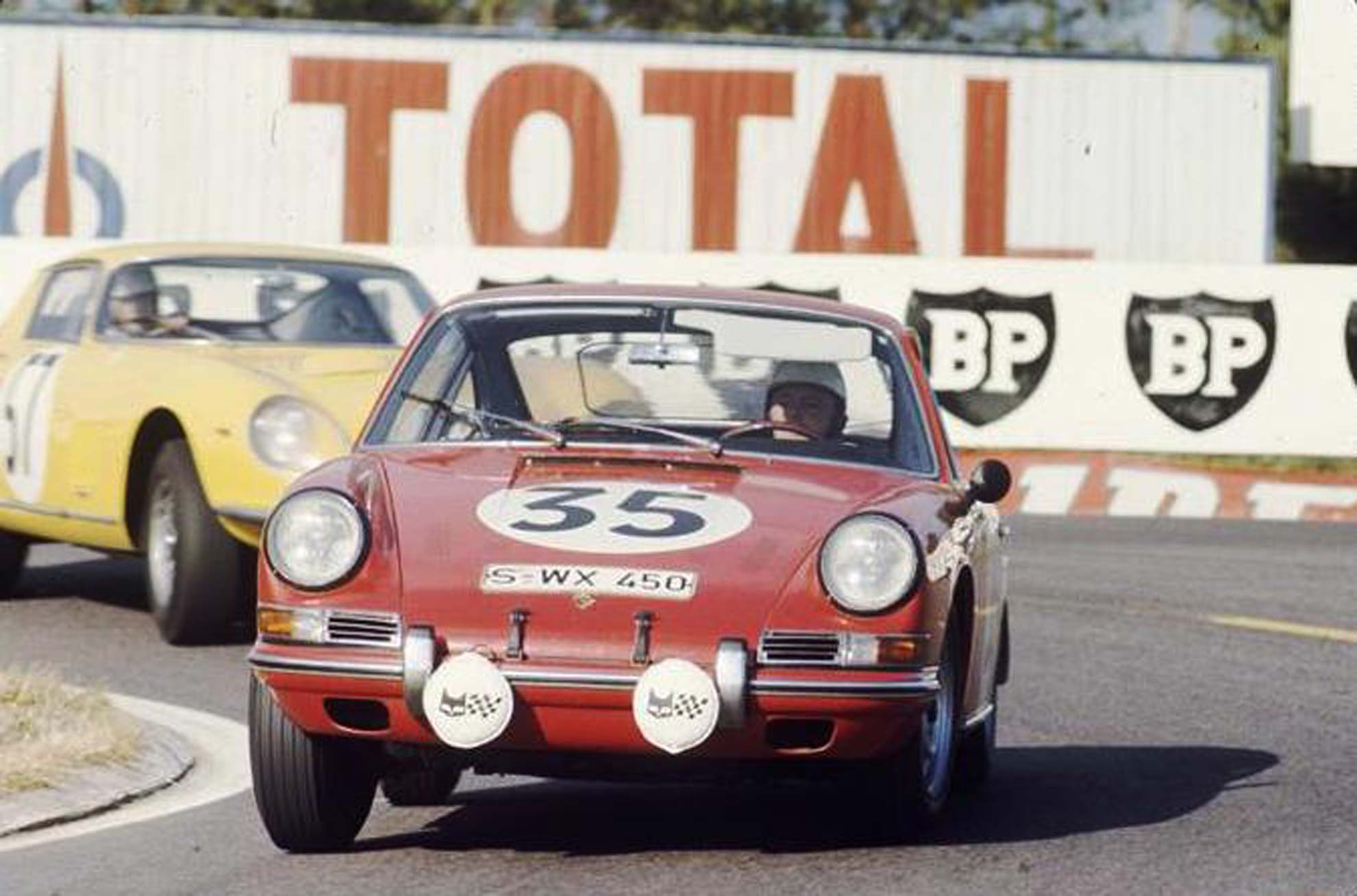 Chassis 303076 was the very first Porsche 911 to be driven at Le Mans in 1966 where it won the its class. The very same car had come home 3rd in class in the Monte Carlo rally six months earlier.