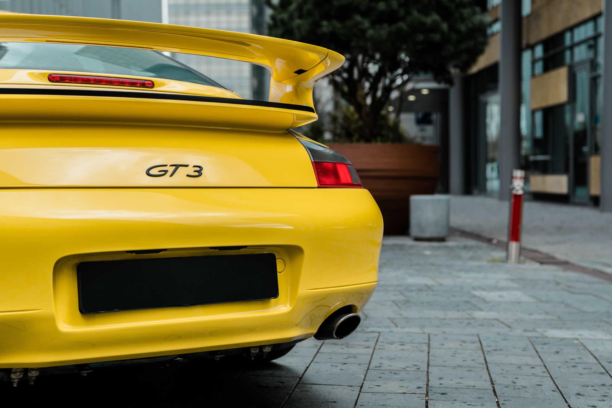 For sale, 2001 Porsche 996 GT3, Sports Purpose, Bicester Heritage, Oxon