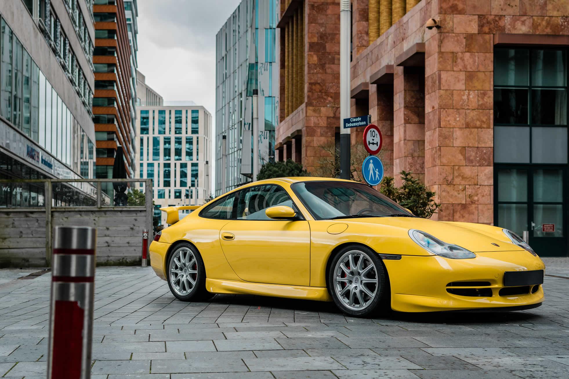 For sale, 2001 Porsche 996 GT3, Sports Purpose, Bicester Heritage
