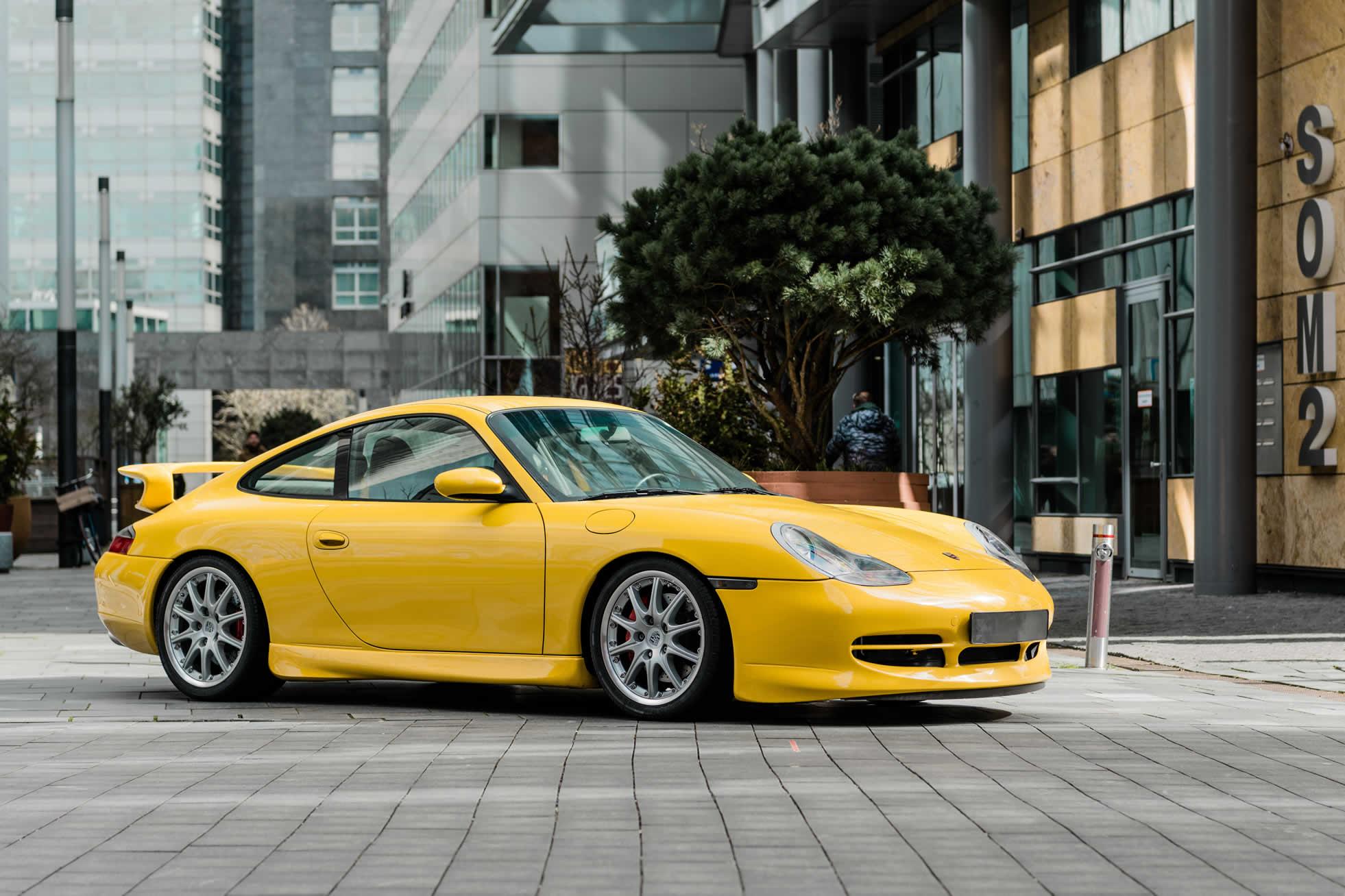 For sale, 2001 Porsche 996 GT3, Sports Purpose