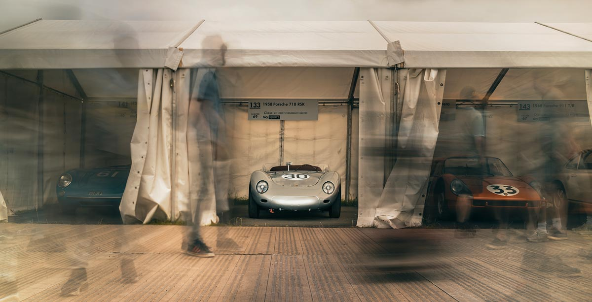 Driving the RSK at Goodwood Festival of Speed