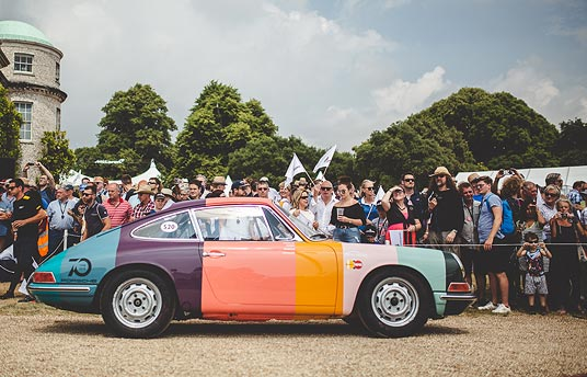 Sports Purpose at the Goodwood Festival of Speed