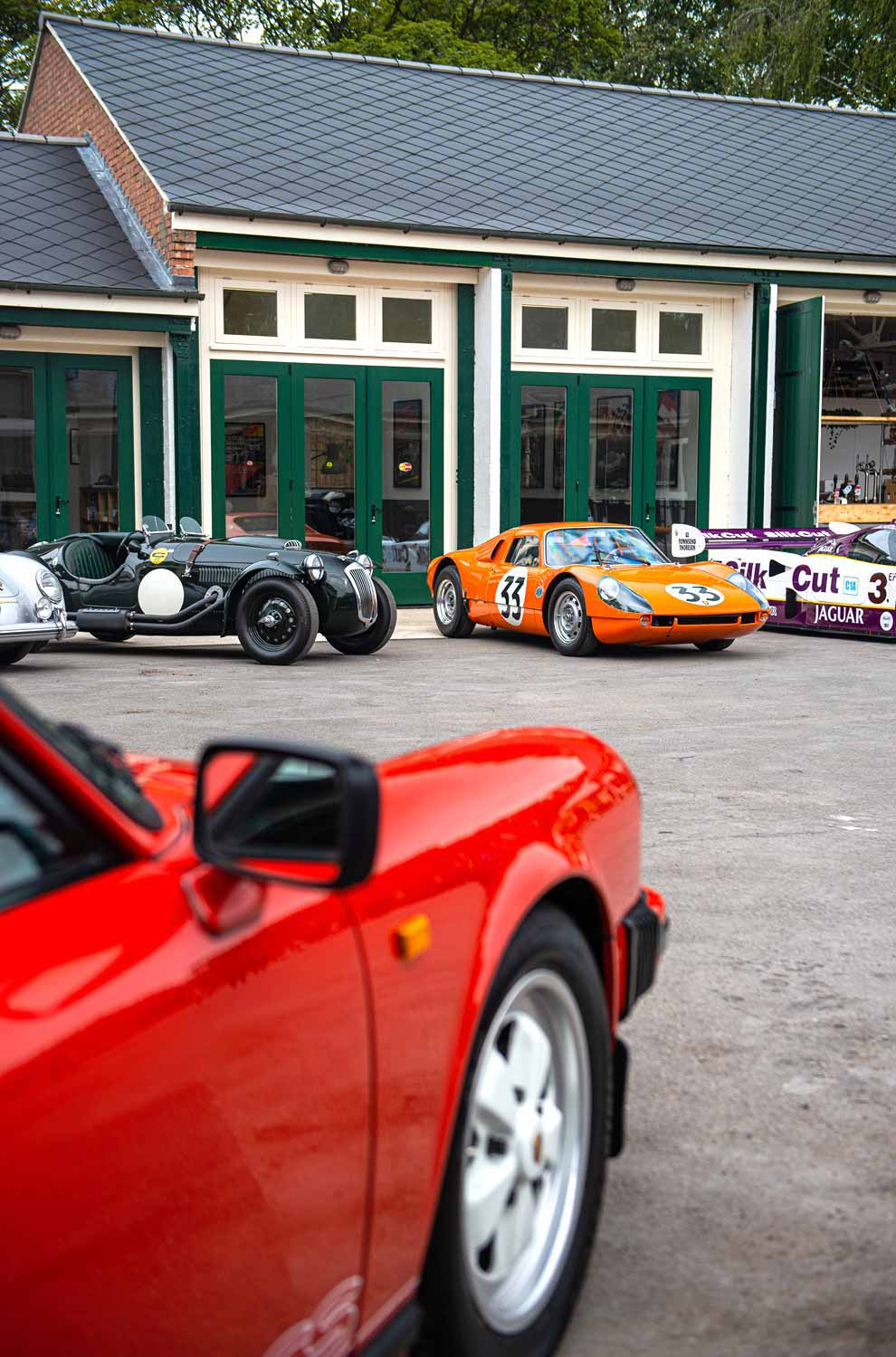 Sports Purpose headquarters at Bicester Heritage