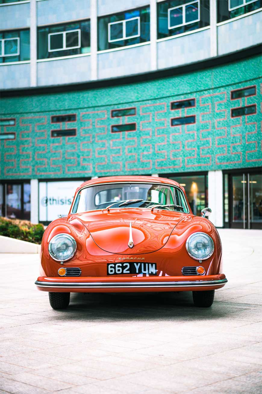 1957 Porsche 356 A - car sourced by Sports Purpose