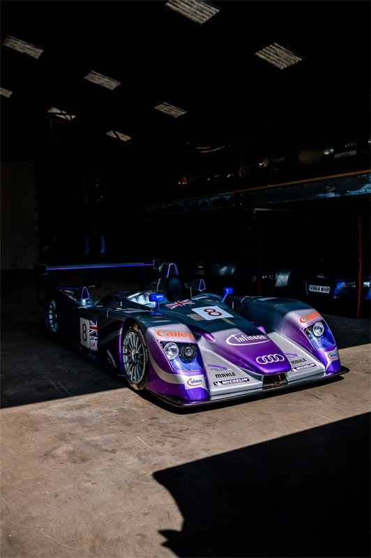 2002 Audi R8 LMP900 - car sourced by Sports Purpose