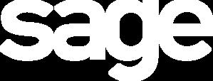 sage logo negativ